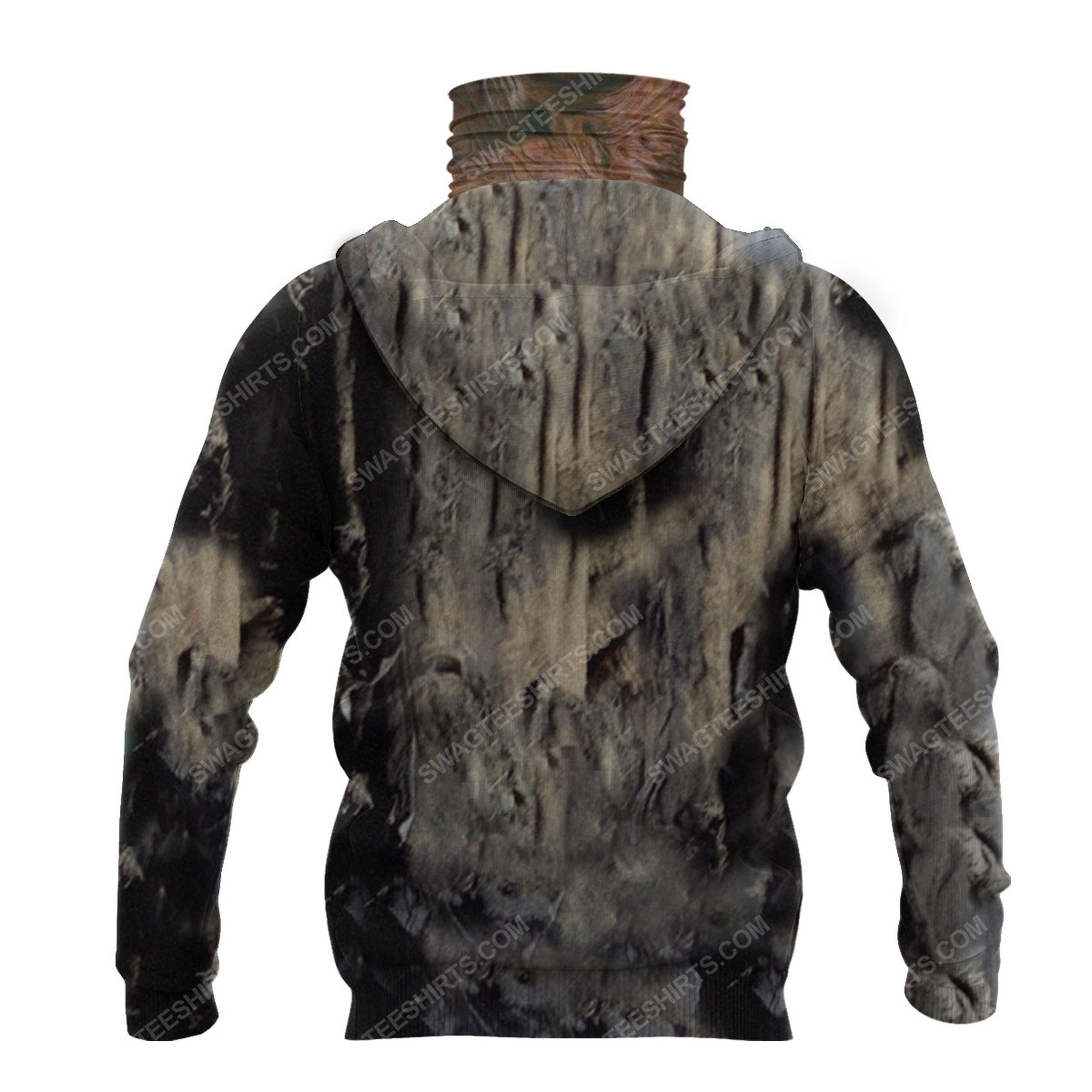Friday the 13th jason voorhees for halloween full print mask hoodie 3(1)