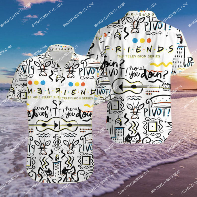 Friends tv series i'll be there for you hawaiian shirt 1