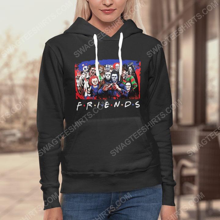 Friends tv show horror movie villains hoodie 1(1)