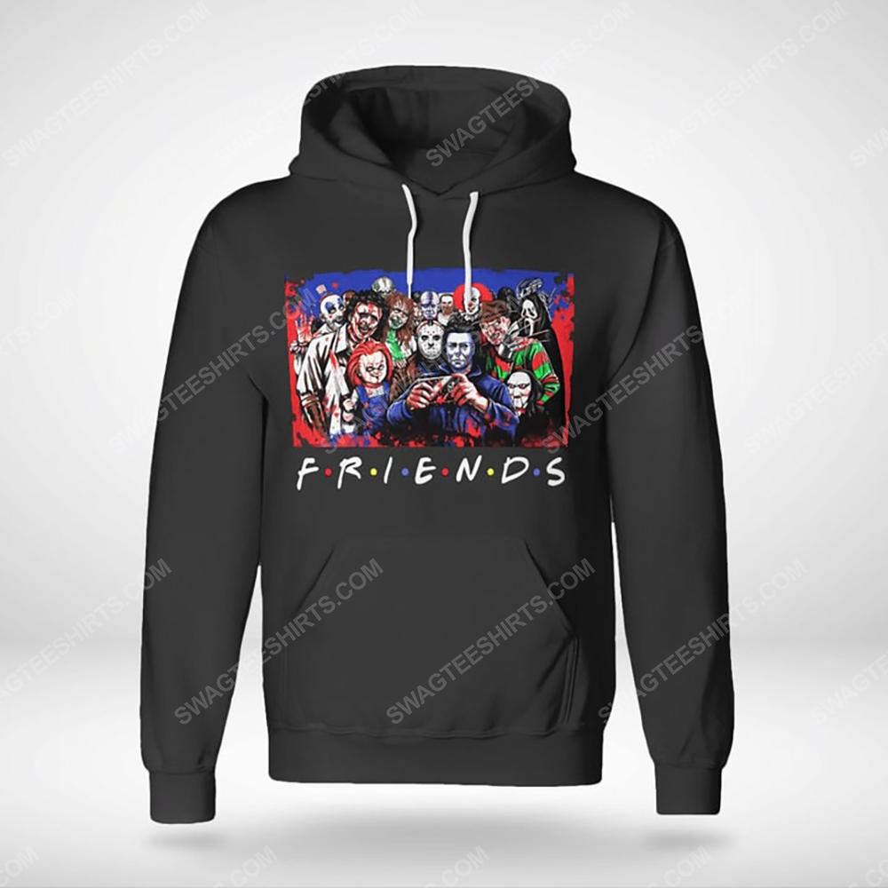 Friends tv show horror movie villains hoodie(1)