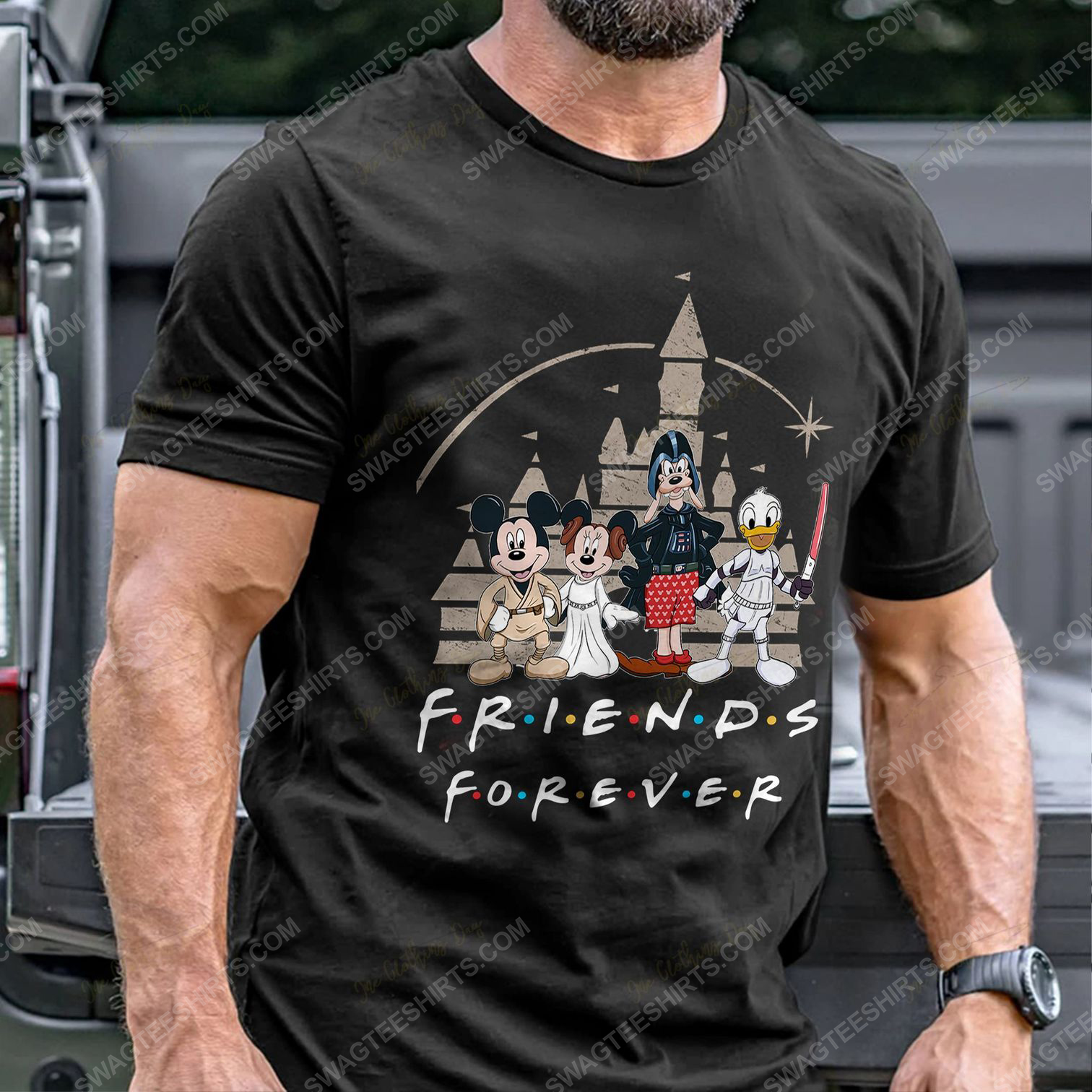 Friends tv show mickey mouse and friends shirt 5(1)