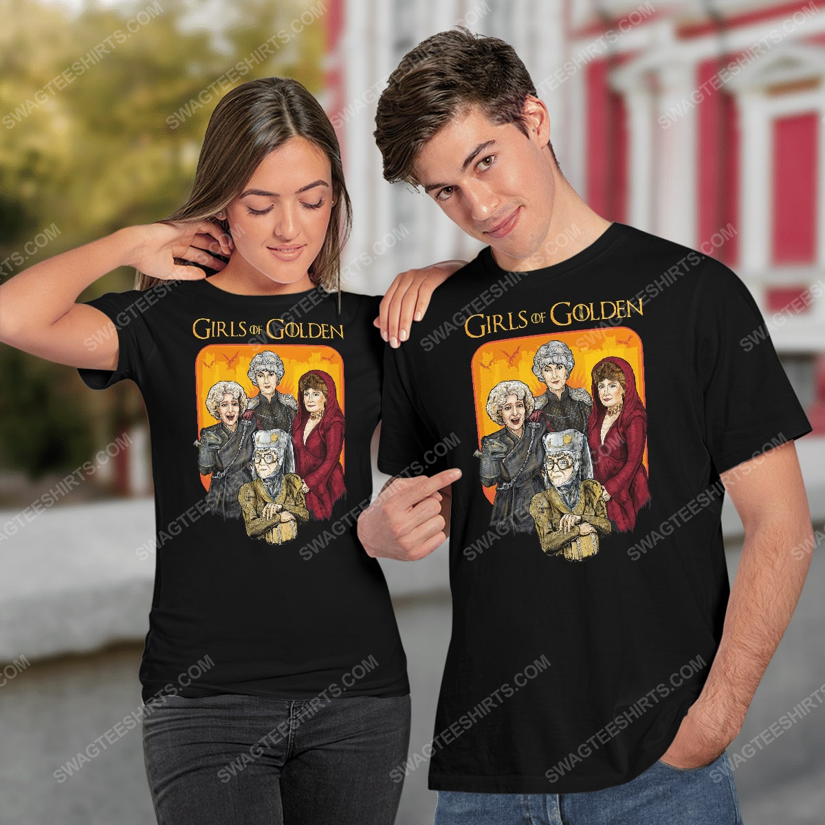 Game of thrones and the golden girls girls of golden shirt 2(1)
