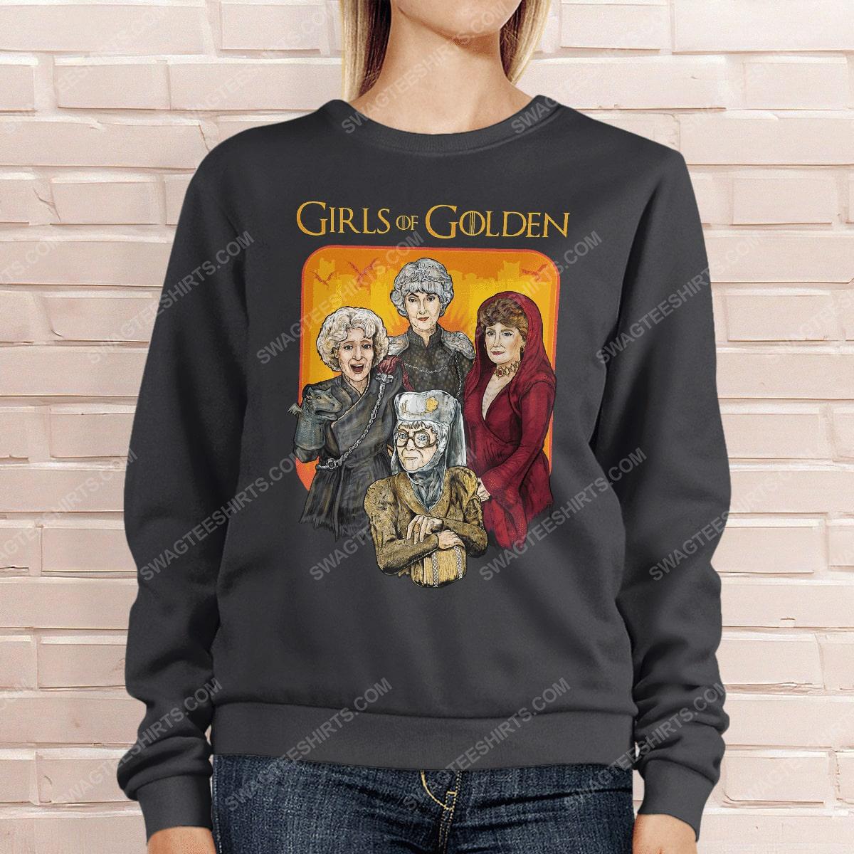 Game of thrones and the golden girls girls of golden sweatshirt 1(1)