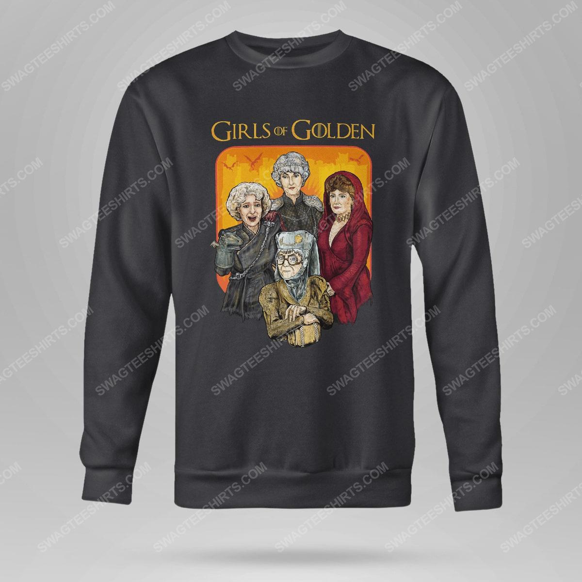 Game of thrones and the golden girls girls of golden sweatshirt(1)