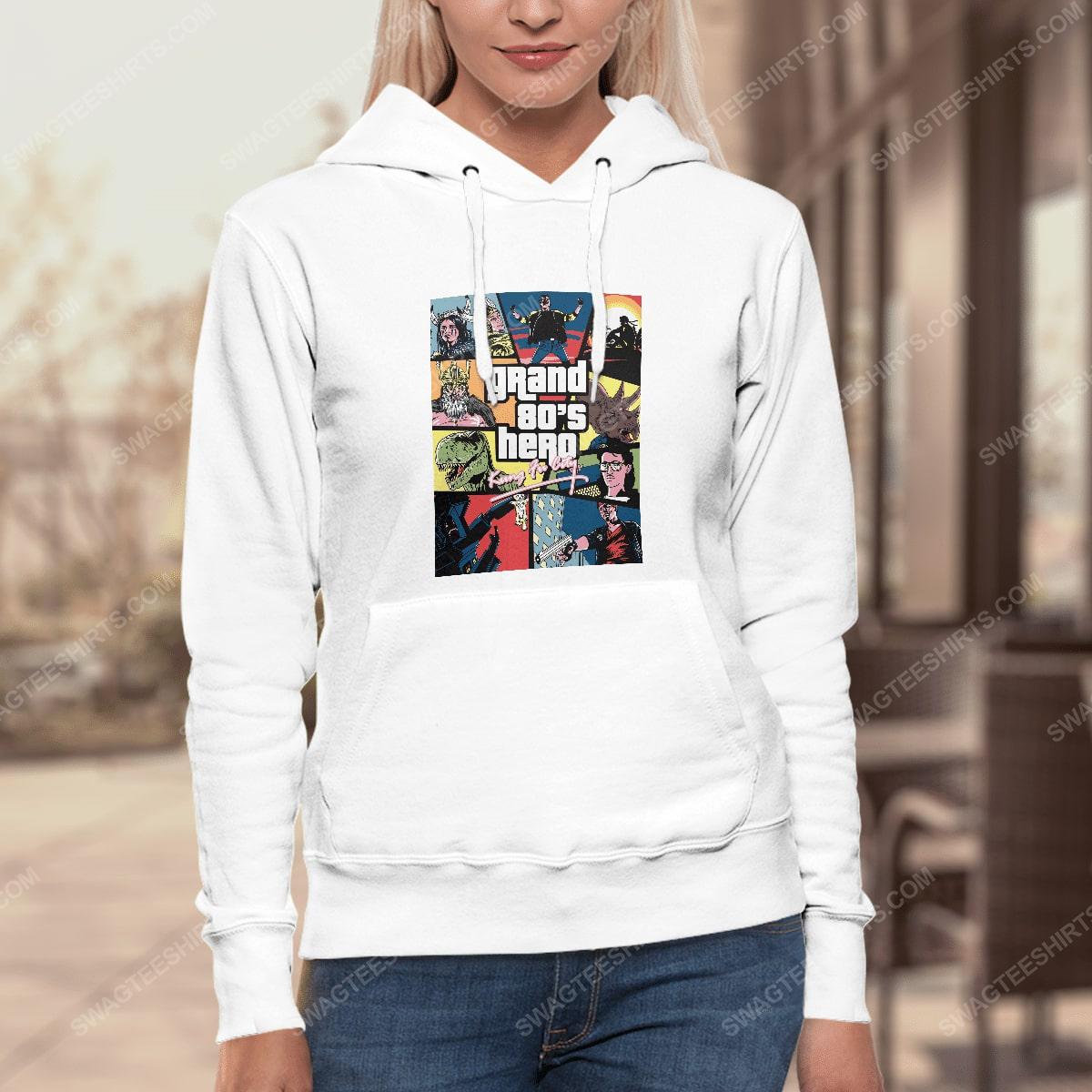 Grand 80's hero kung fu city hoodie 1(1)