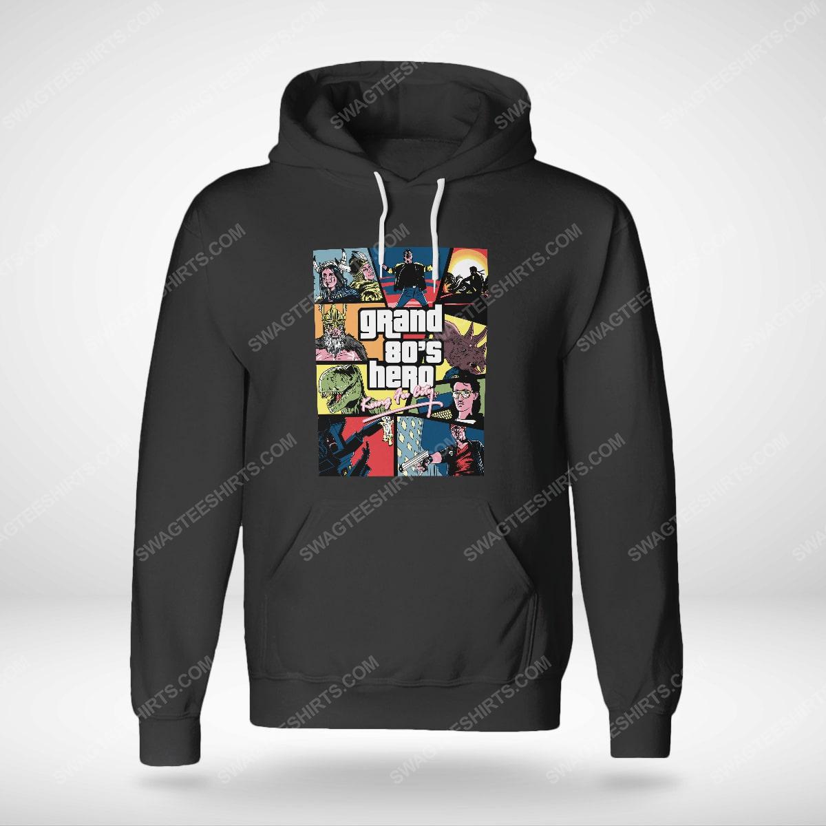 Grand 80's hero kung fu city hoodie(1)