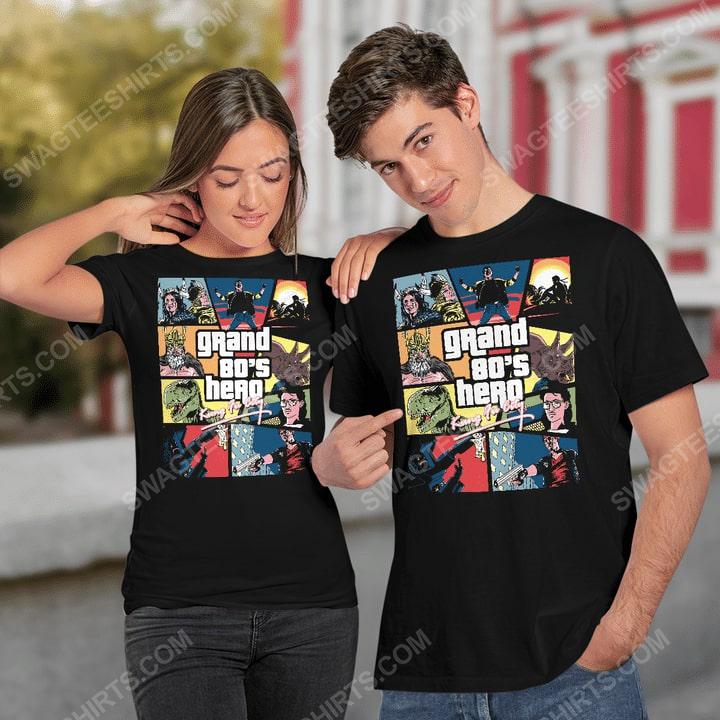Grand 80's hero kung fu city shirt 2(1)