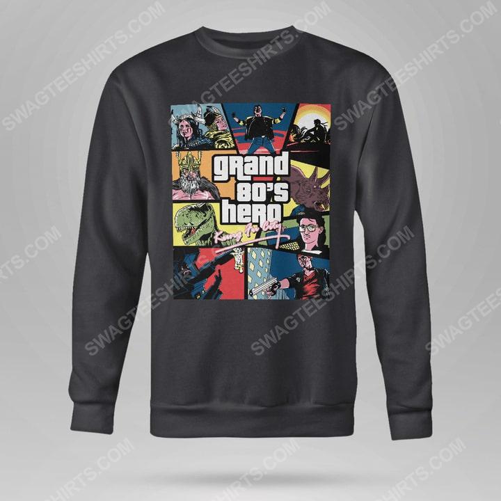 Grand 80's hero kung fu city sweatshirt(1)