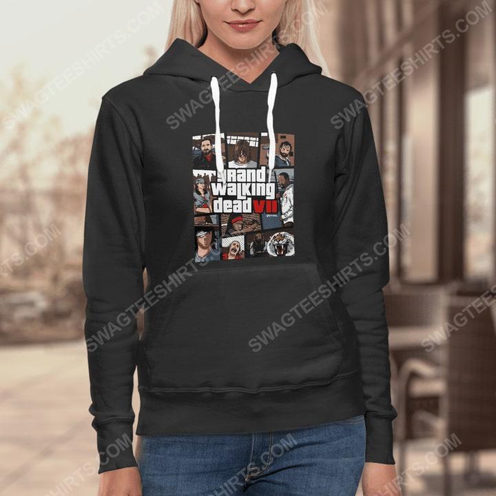 Grand walking dead the walking dead hoodie 1(1)