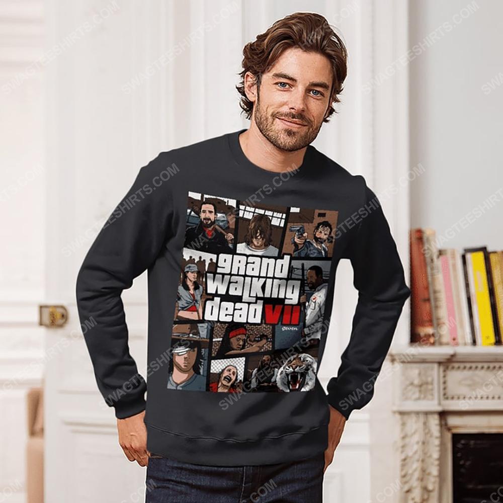 Grand walking dead the walking dead sweatshirt 1(1)