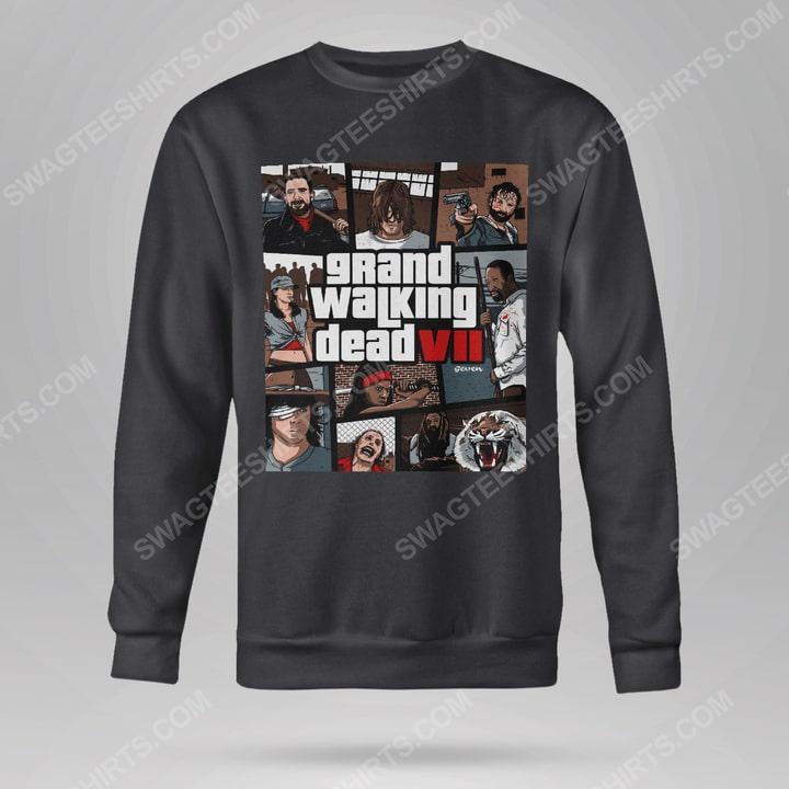 Grand walking dead the walking dead sweatshirt(1)