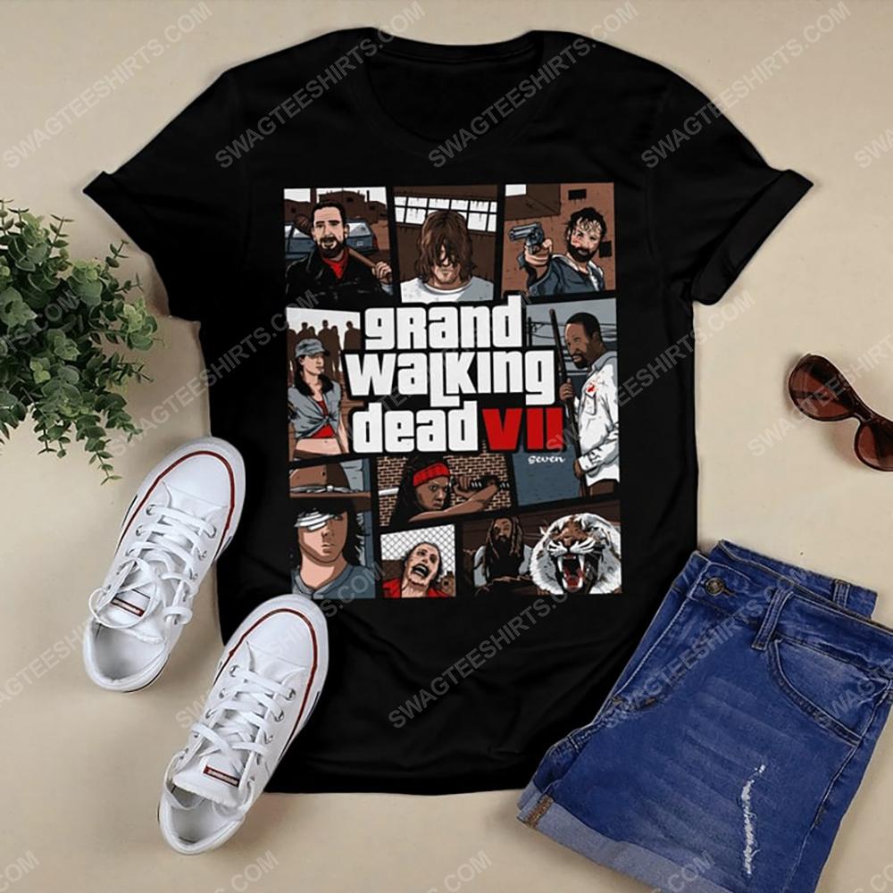 Grand walking dead the walking dead tshirt 1