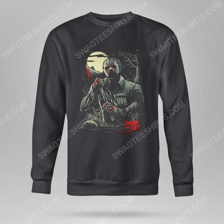 Halloween movie jason voorhees friday the 13th sweatshirt(1)