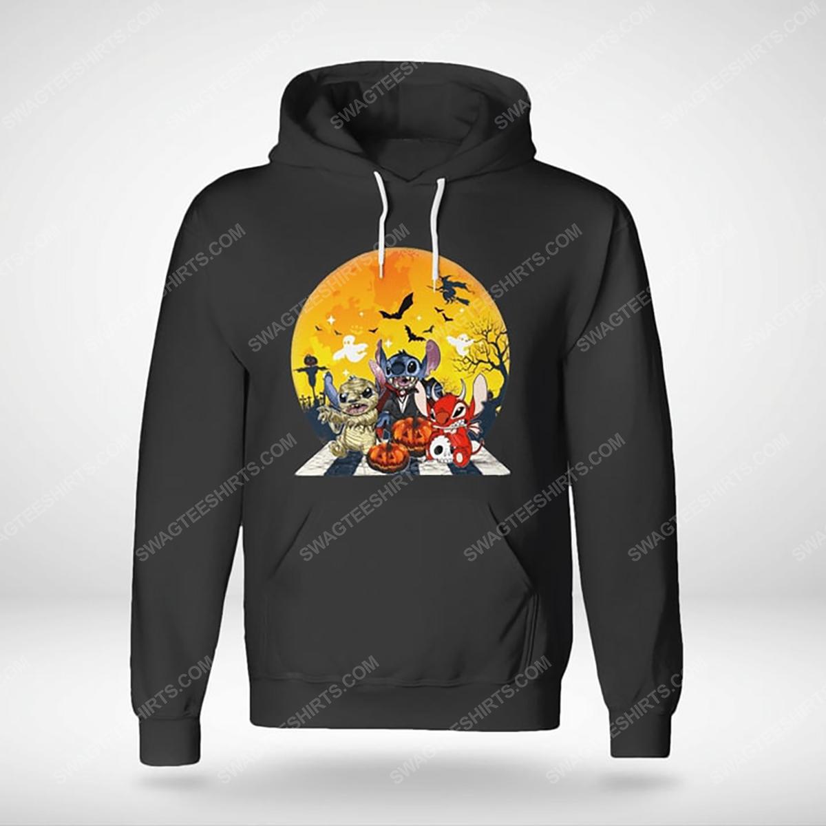 Halloween night stitch cosplay horror characters hoodie(1)