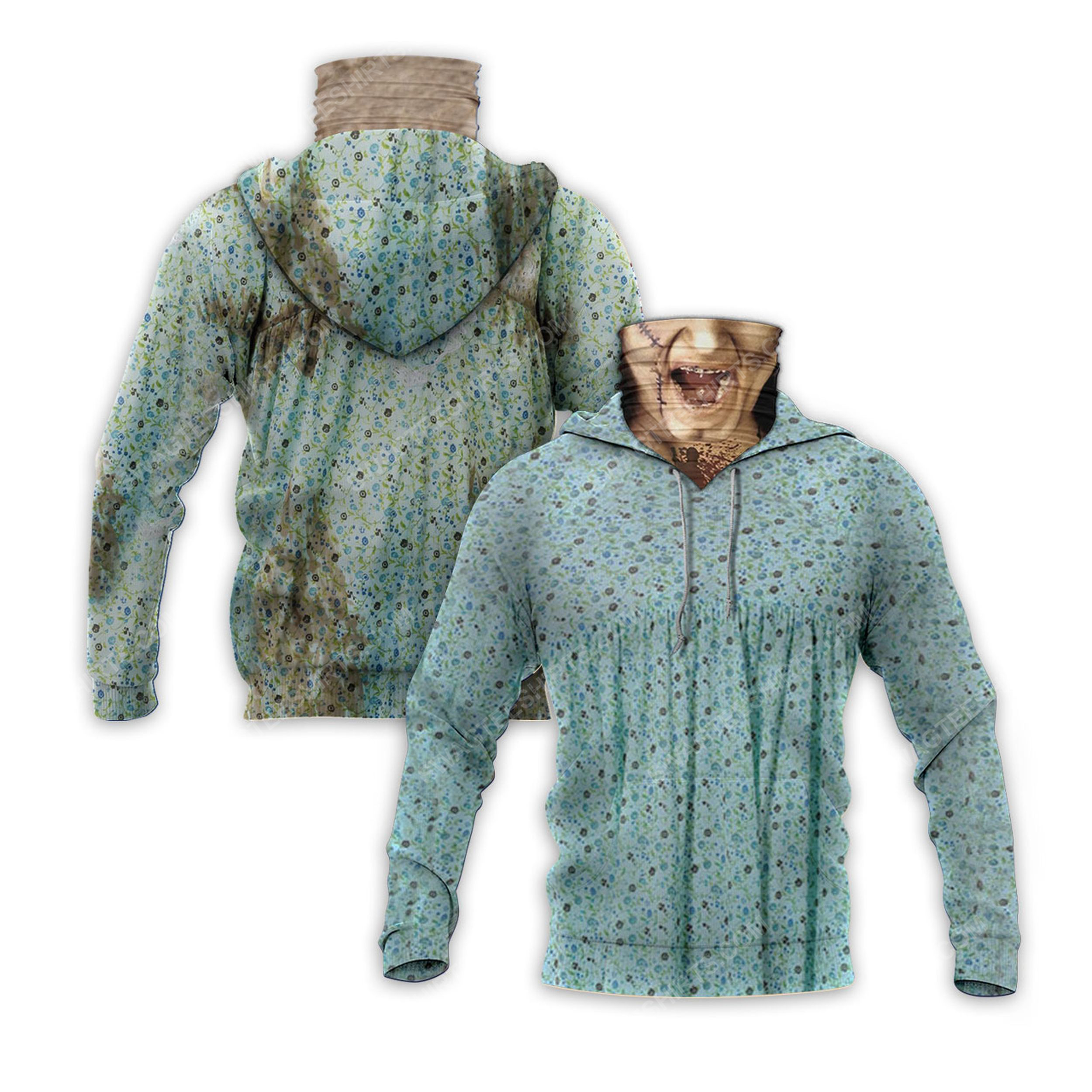 Halloween the exorcist collection movie full print mask hoodie 2(1)