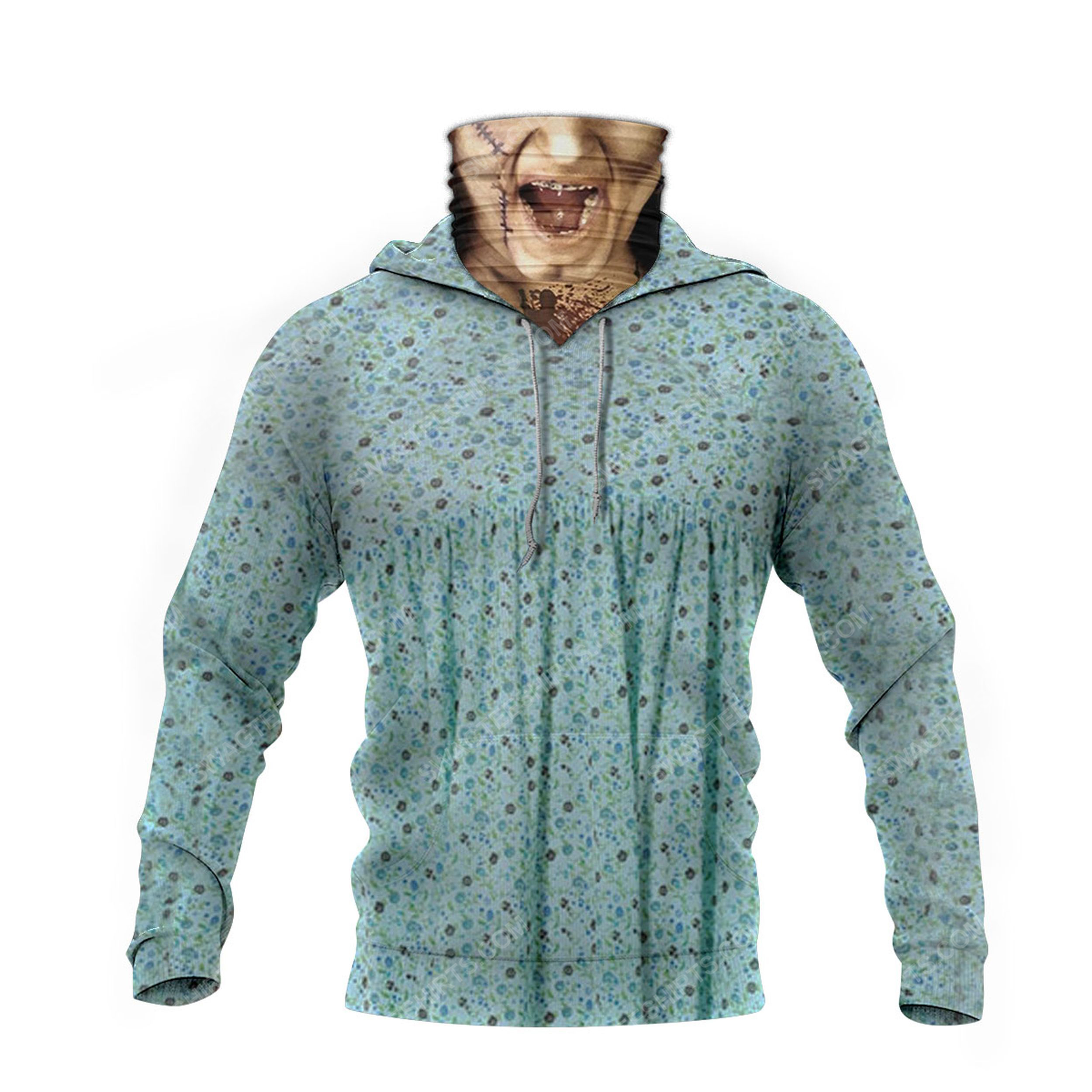Halloween the exorcist collection movie full print mask hoodie 4(1)