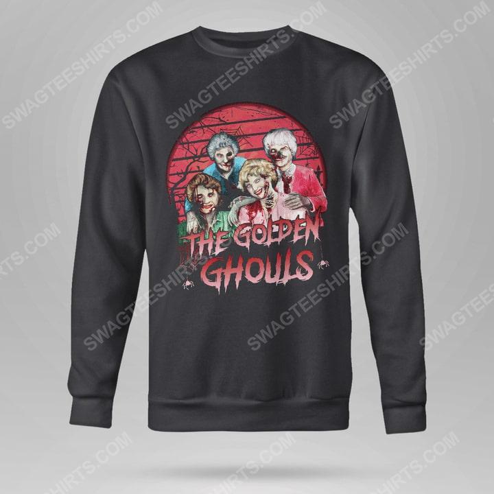 Halloween the golden ghouls the golden girls sweatshirt(1)