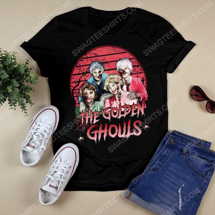 Halloween the golden ghouls the golden girls tshirt 1