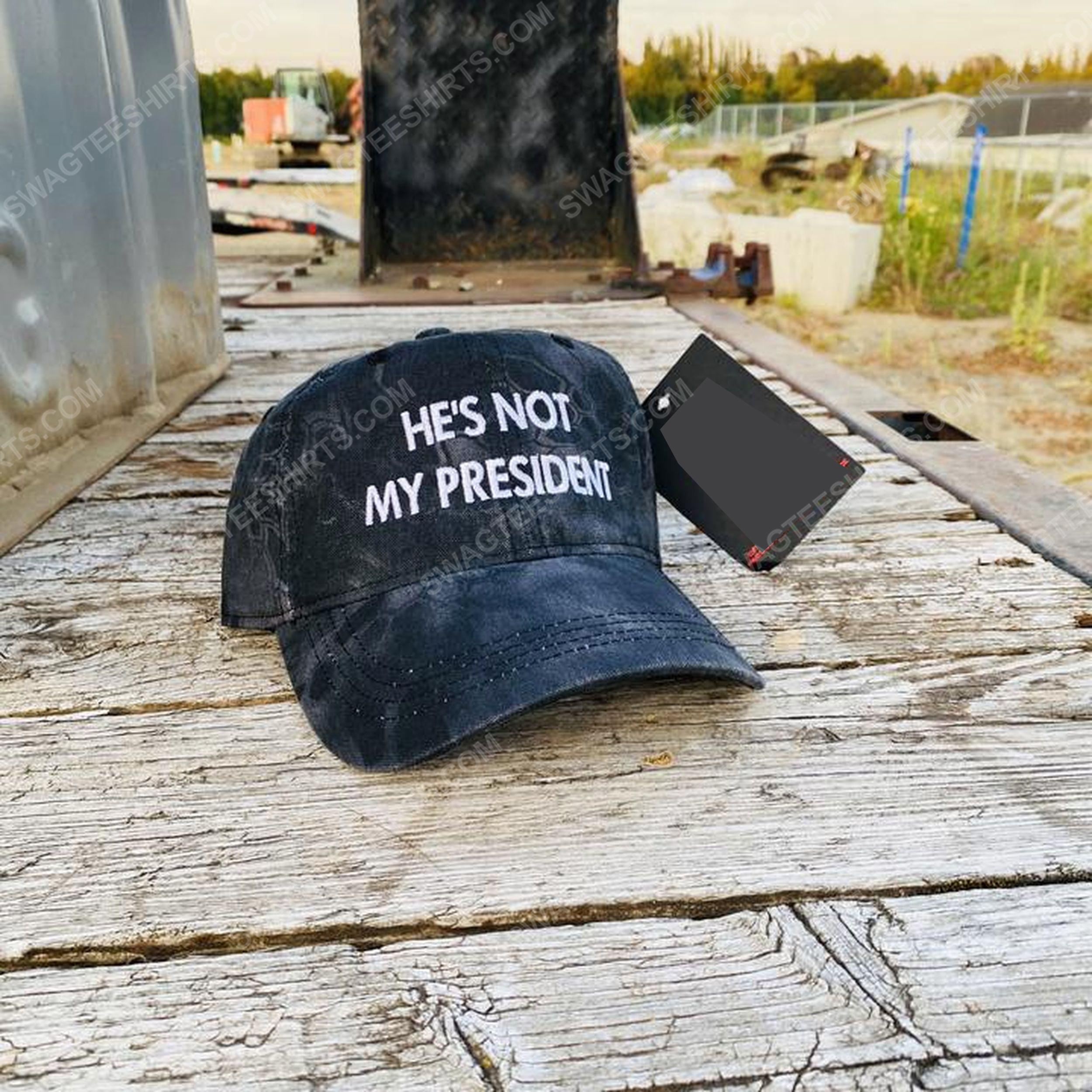 He's not my president full print classic hat 1