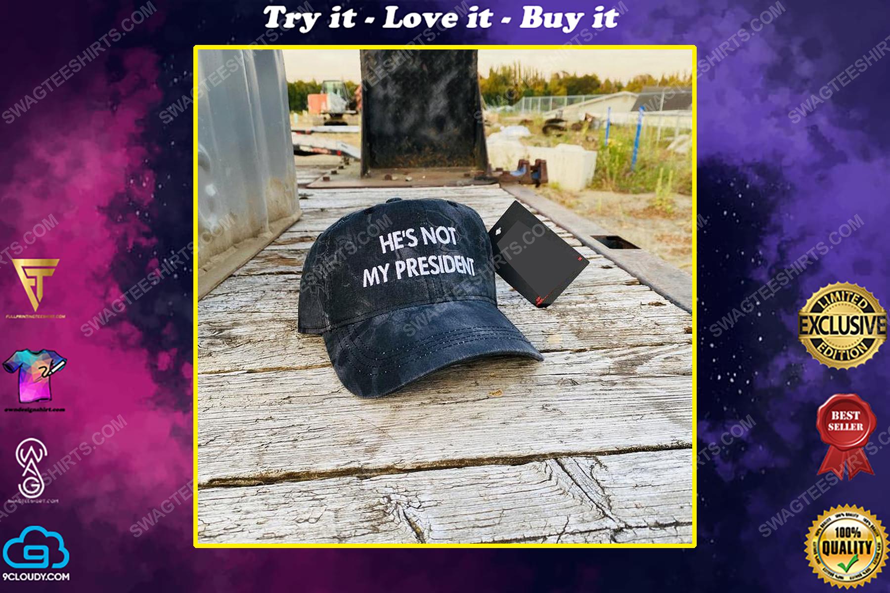 He's not my president full print classic hat