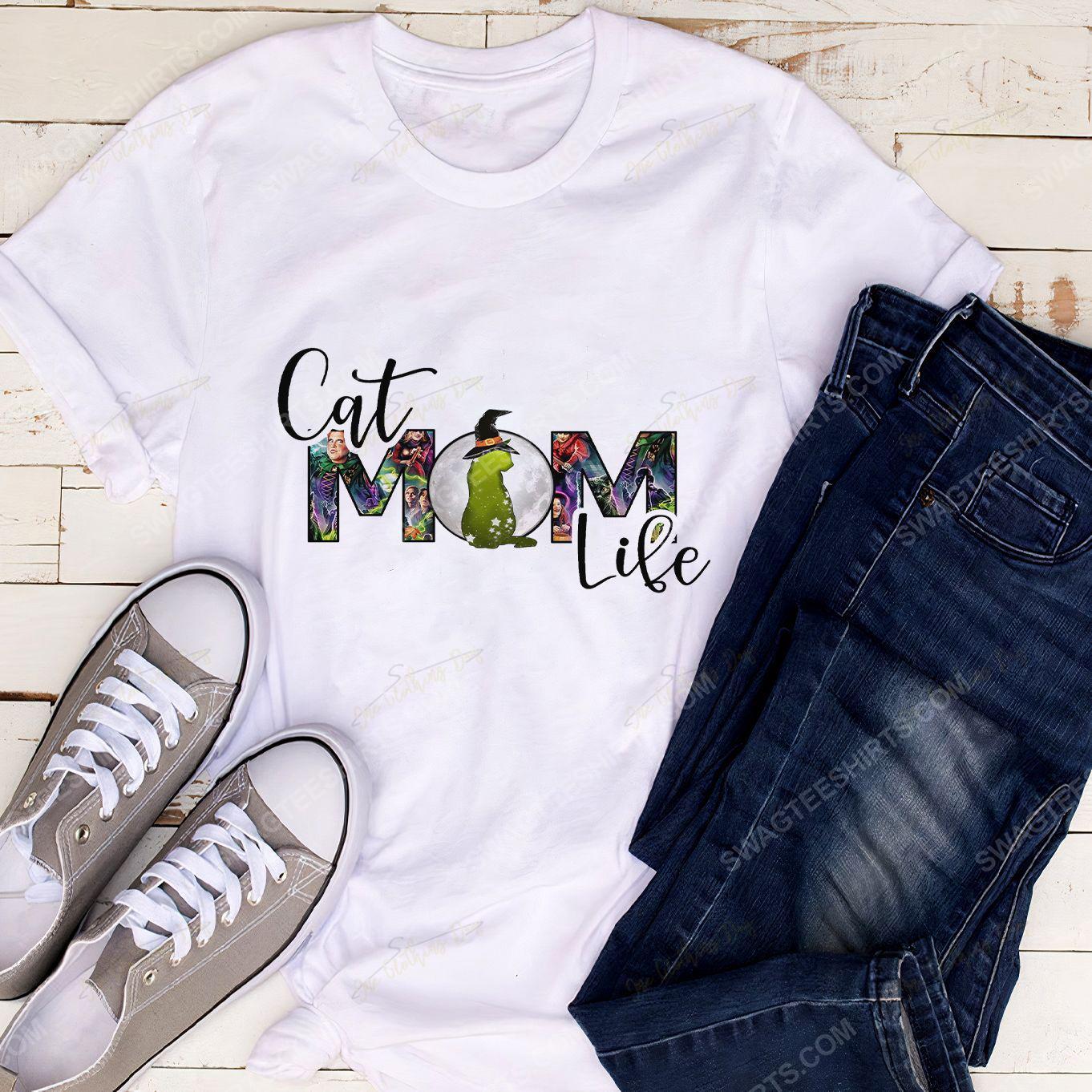Hocus pocus cat mom life halloween day shirt 2(1)