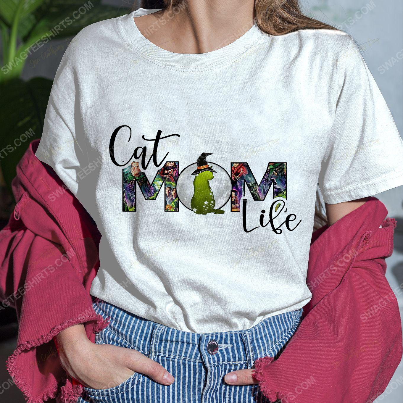 Hocus pocus cat mom life halloween day shirt 4(1)