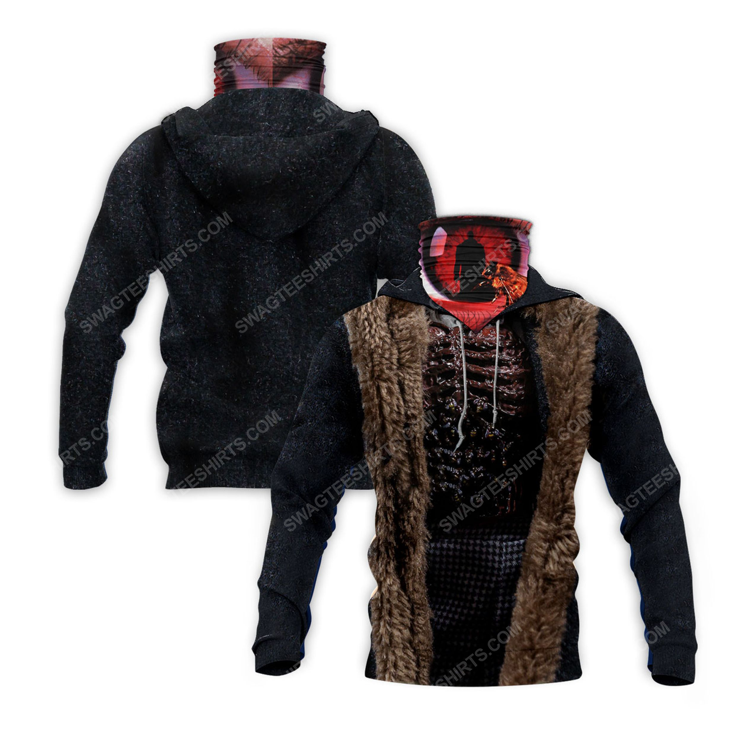 Horror movie candyman for halloween full print mask hoodie 2(1) - Copy