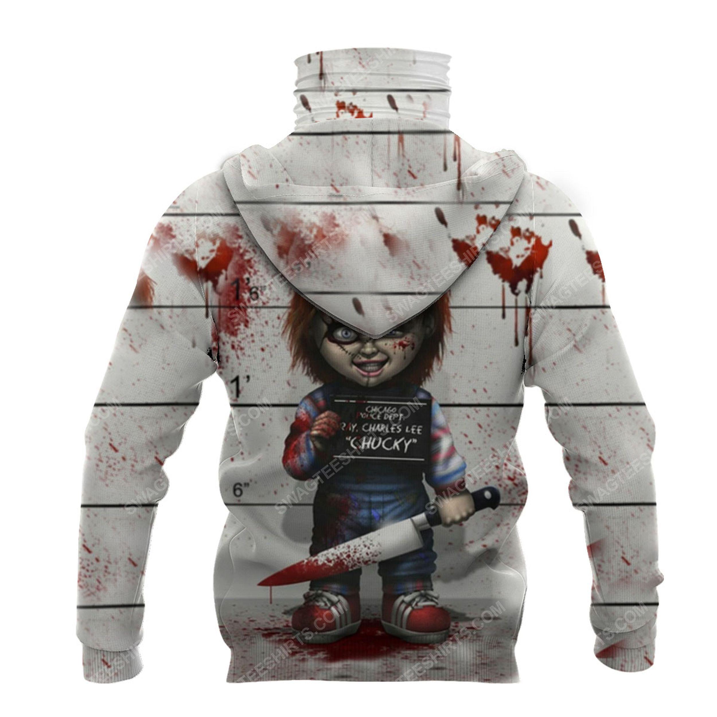 Horror movie chucky doll for halloween full print mask hoodie 3(1)