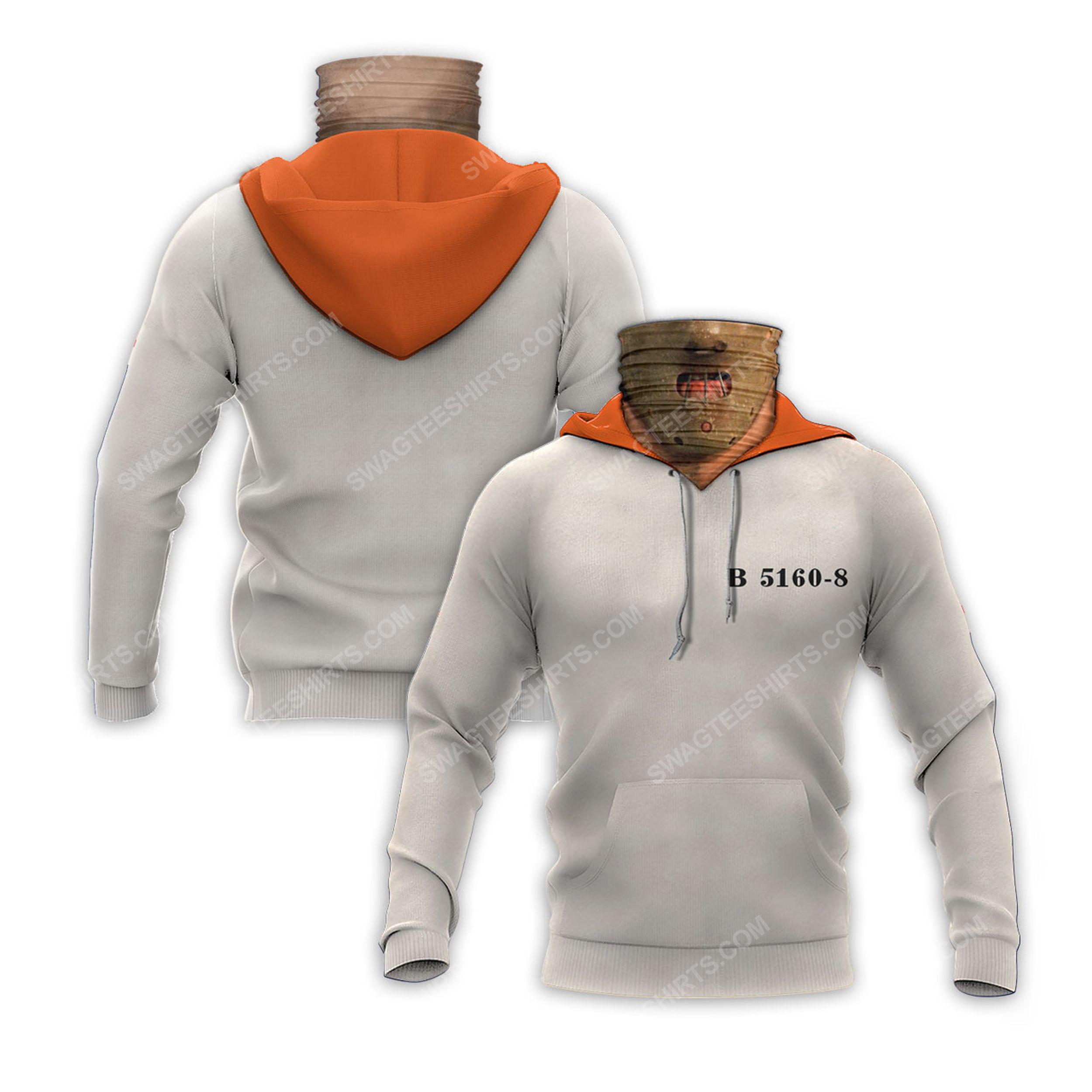 Horror movie hannibal lecter for halloween full print mask hoodie 2(1) - Copy