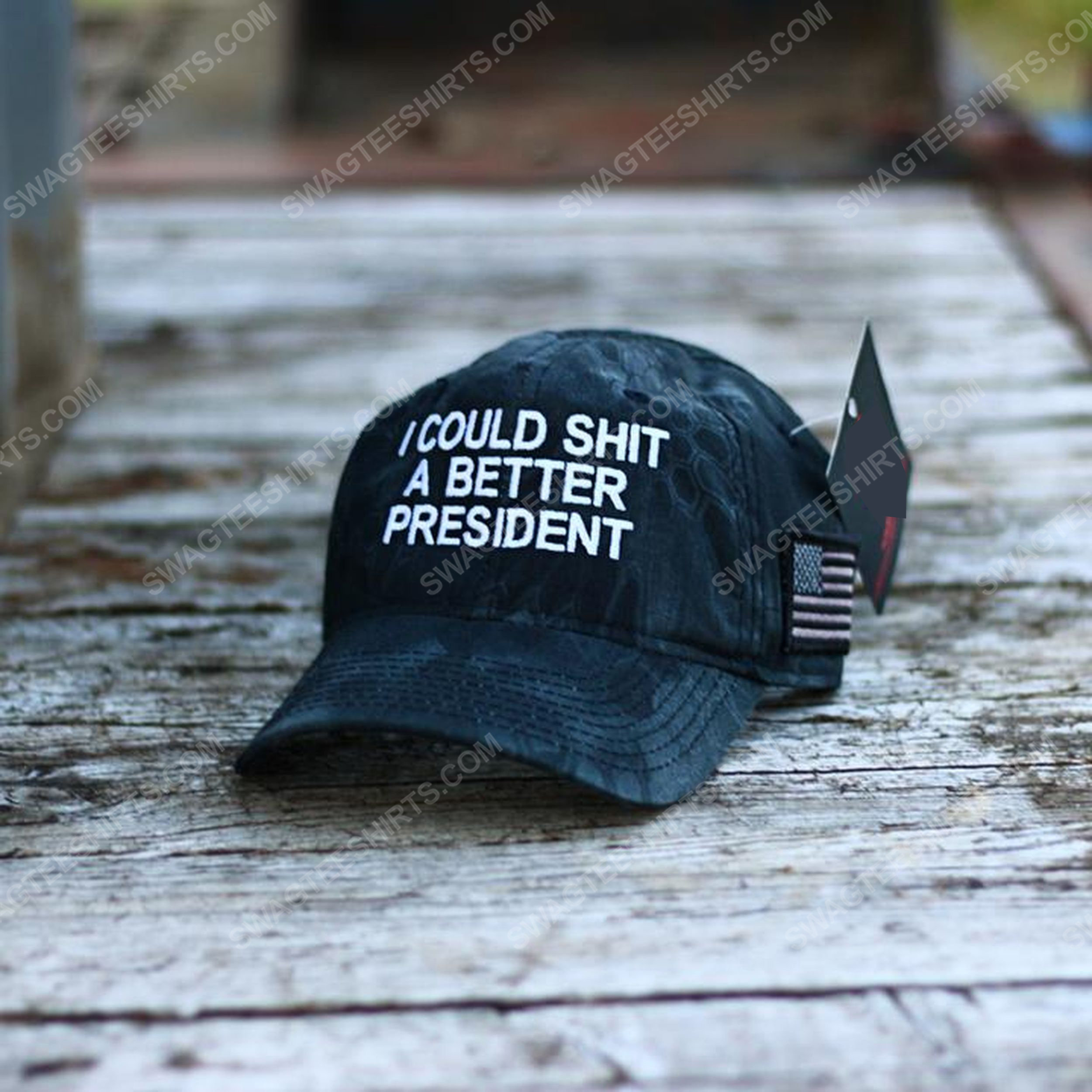 I could shit a better president full print classic hat 1 - Copy
