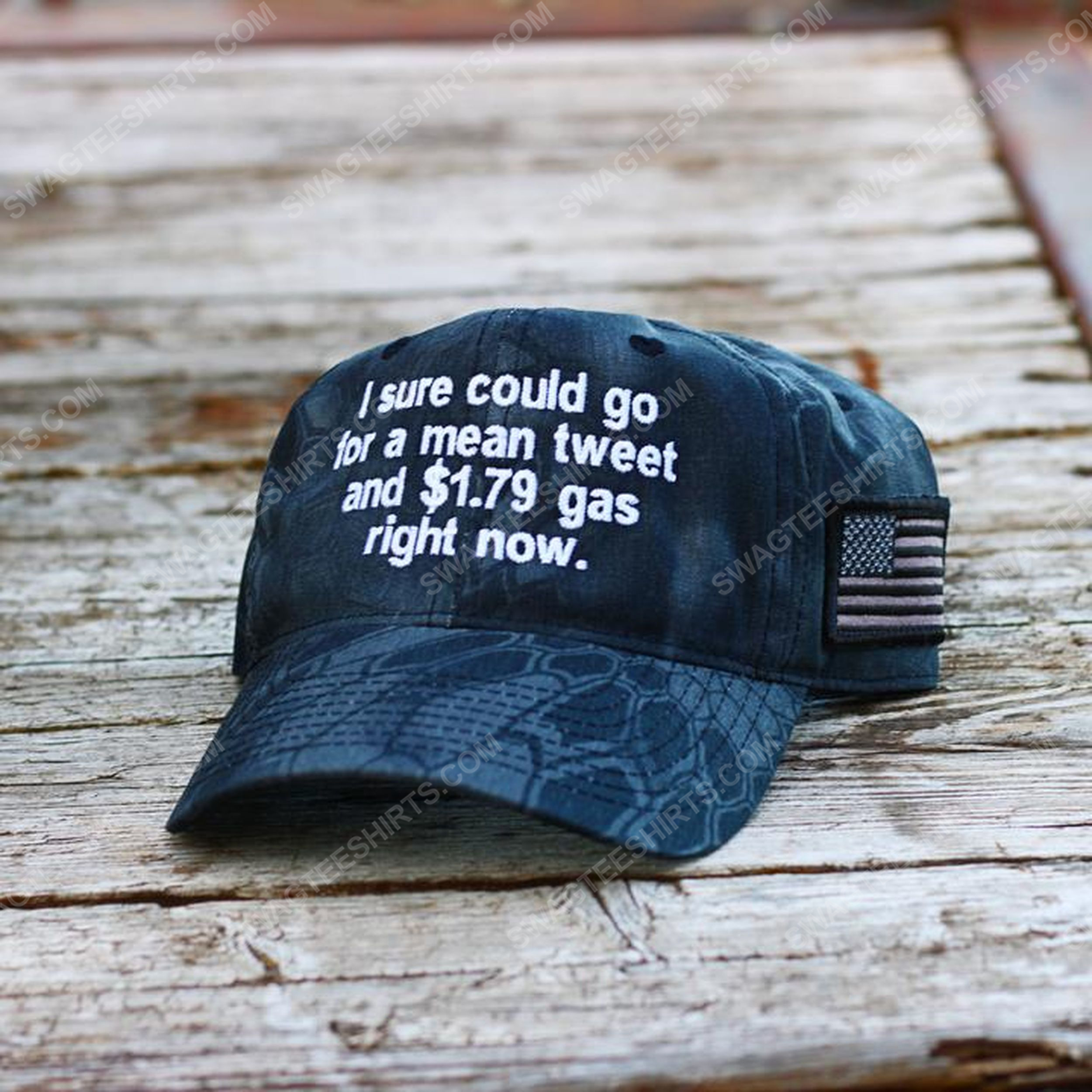 I sure could go for a mean tweet and 179 gas right now full print classic hat 1