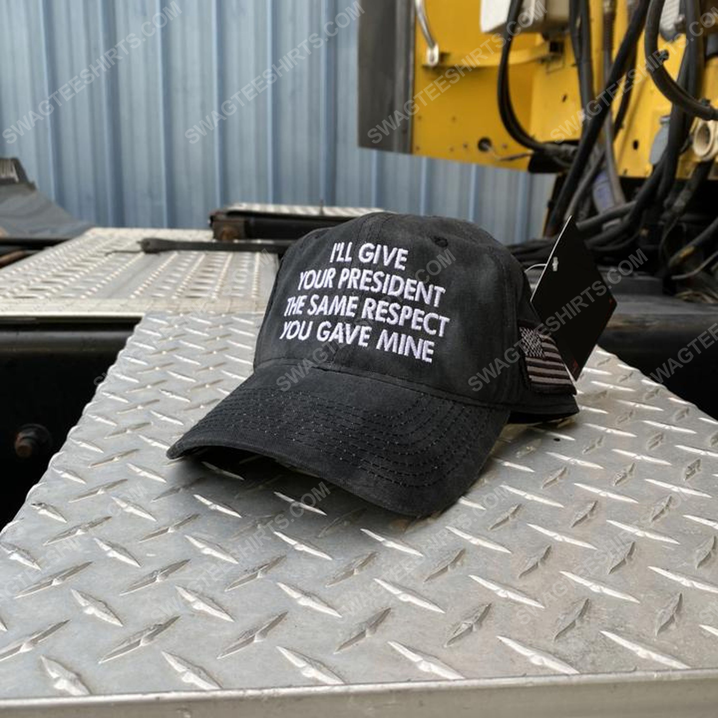 I'll give your president the same respect you gave mine full print classic hat 1 - Copy
