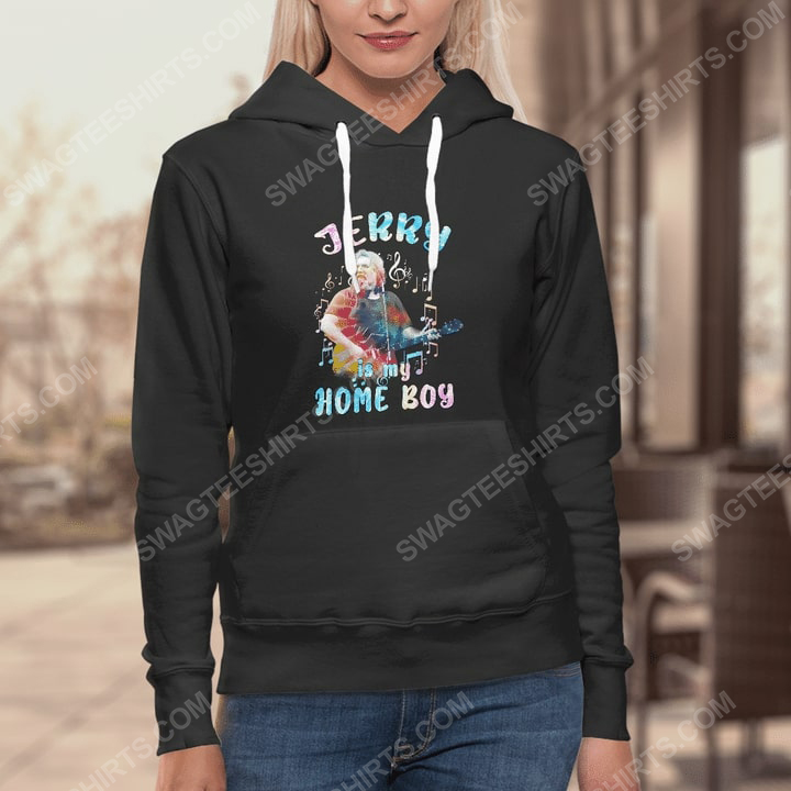 Jerry is my home boy grateful dead rock band hoodie 1(1)
