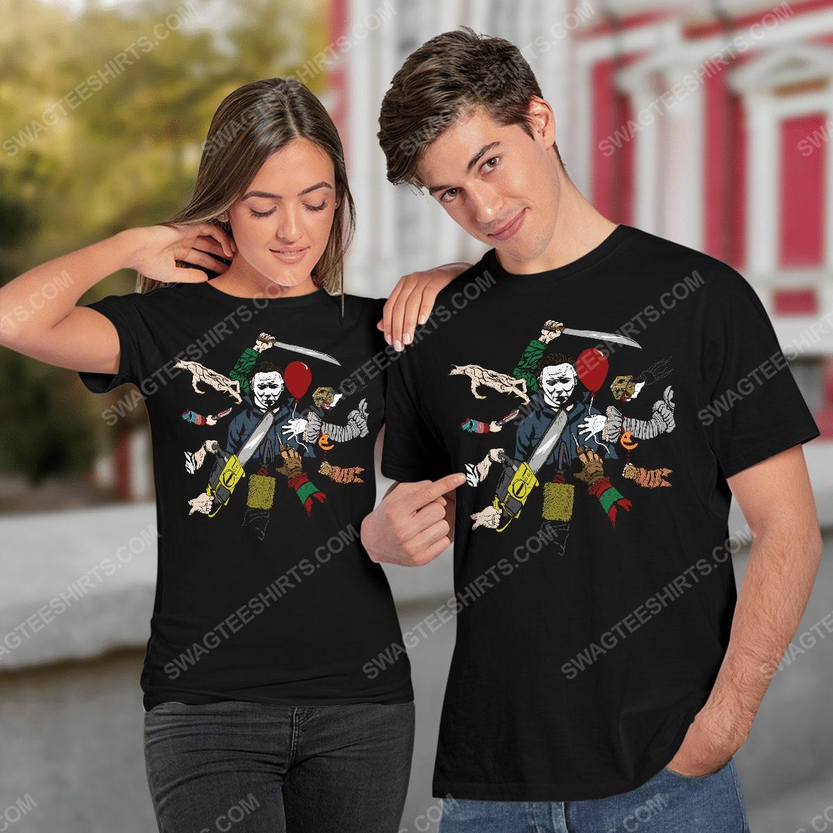 John wick and michael myers hallowick shirt 2(1)