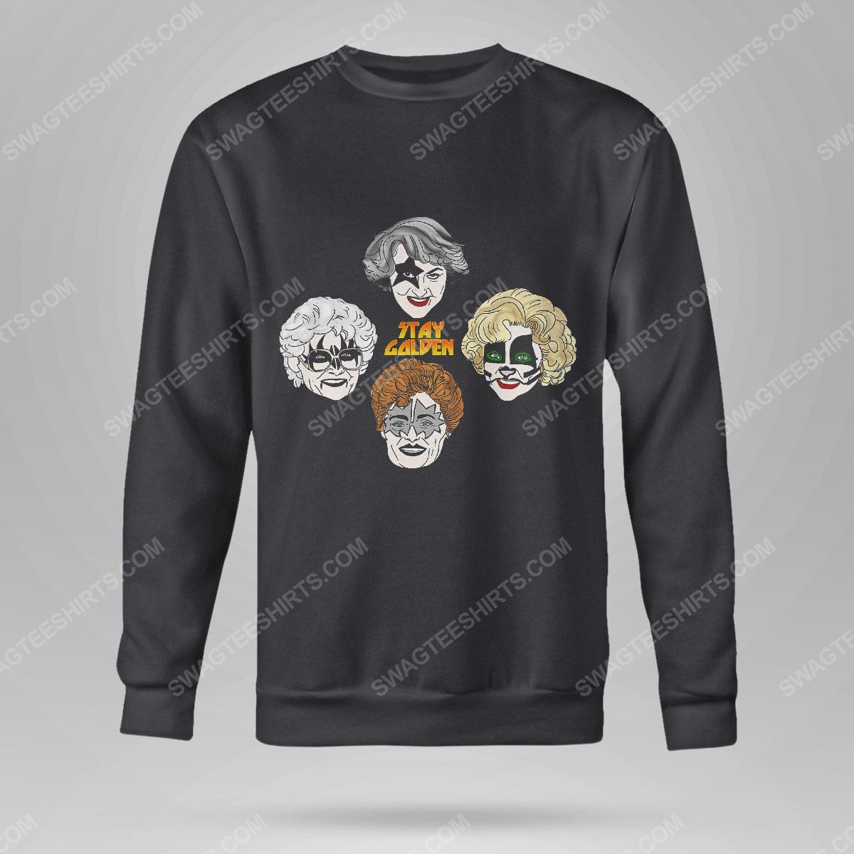 Kiss and the golden girls stay golden sweatshirt(1)