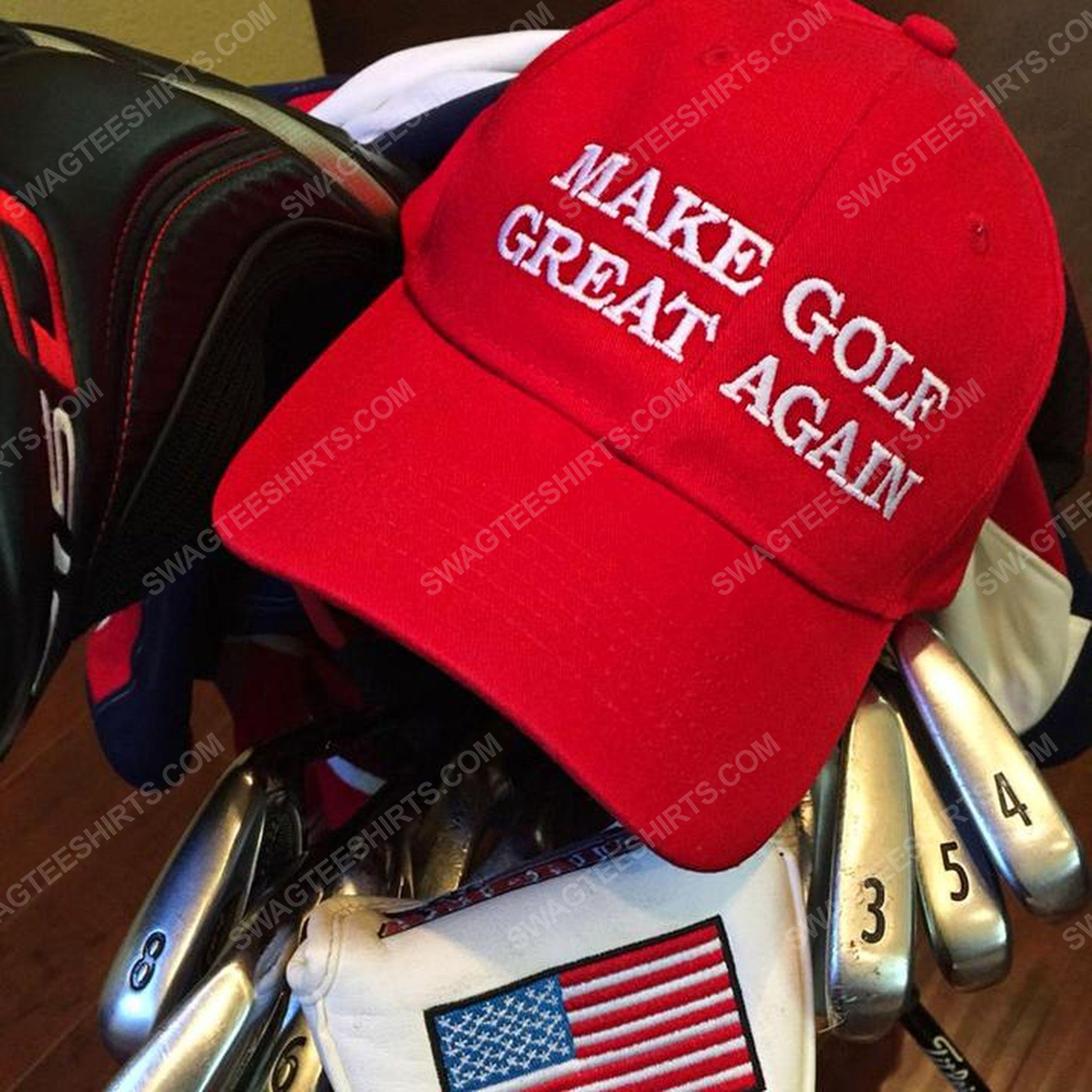 Make golf great again full print classic hat 1