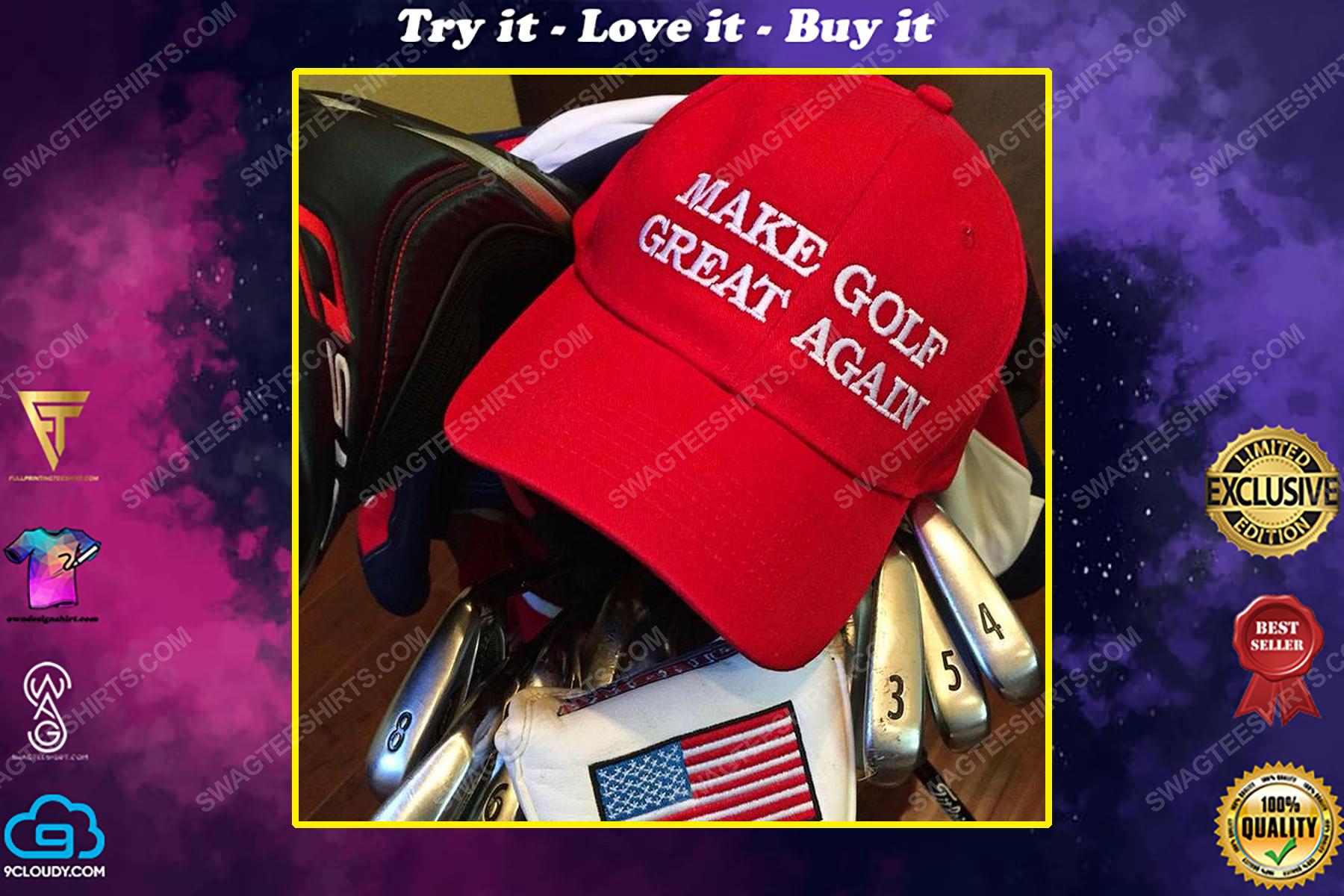 Make golf great again full print classic hat