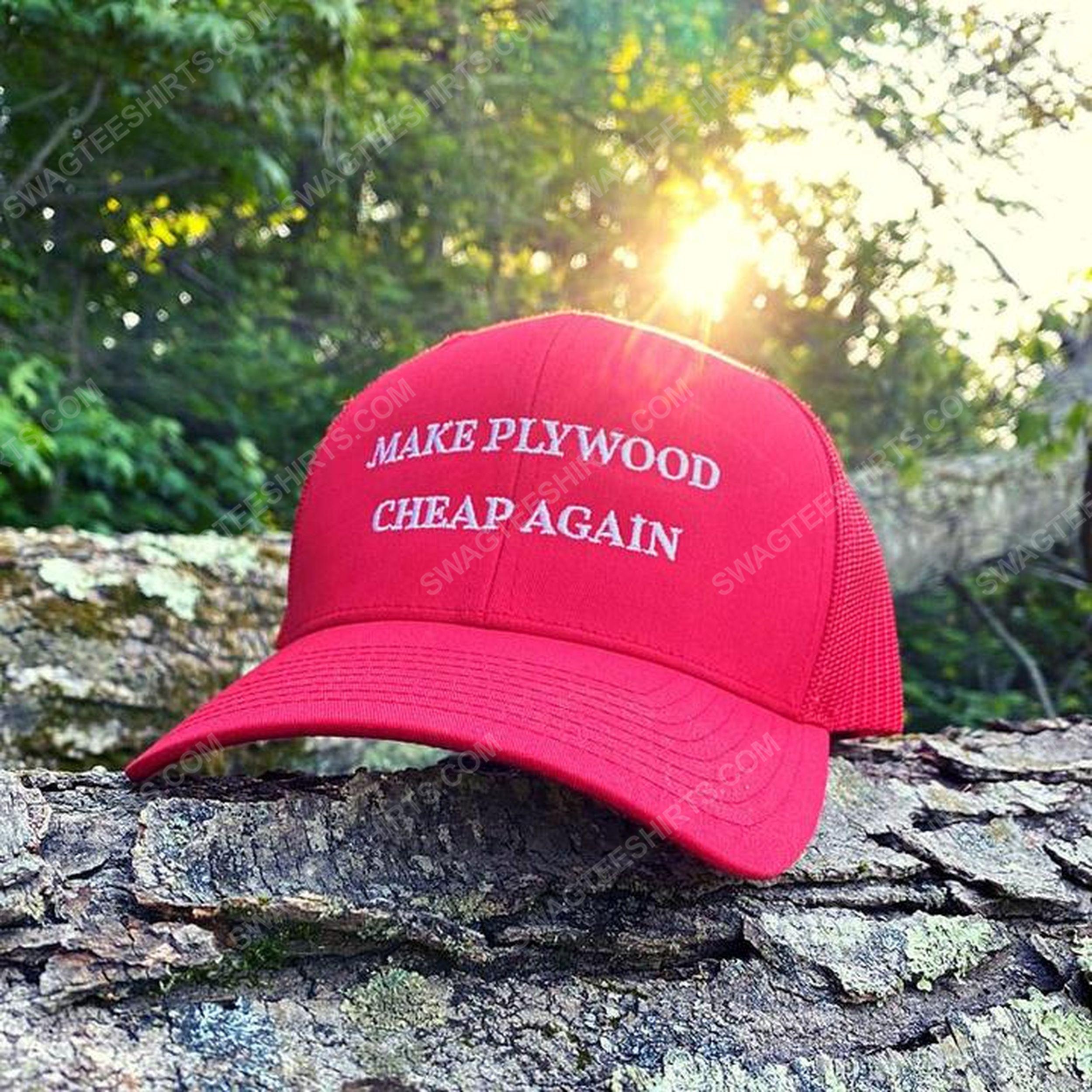 Make plywood cheap again full print classic hat 1 - Copy
