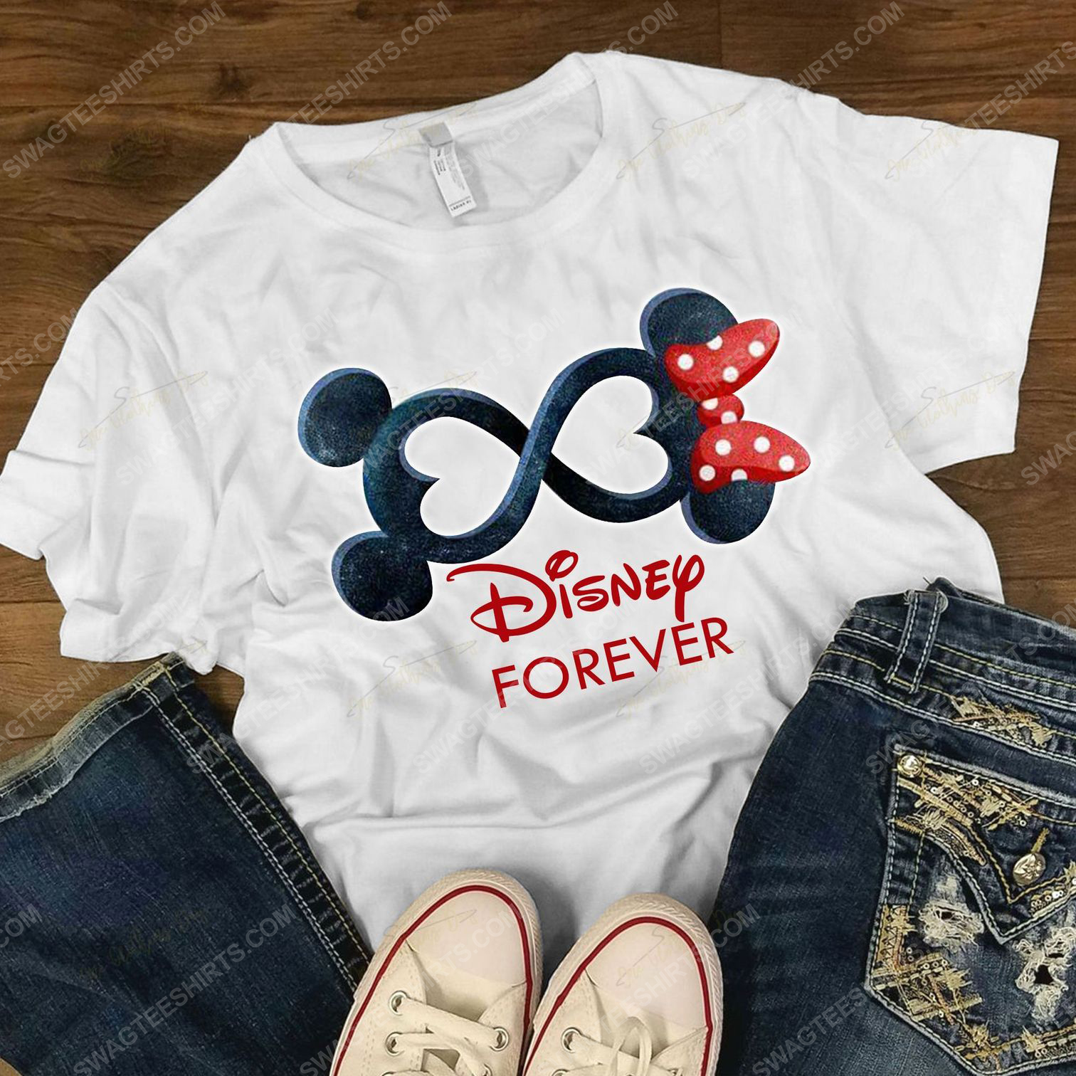 Mickey mouse and minnie mouse forever shirt 4(1)