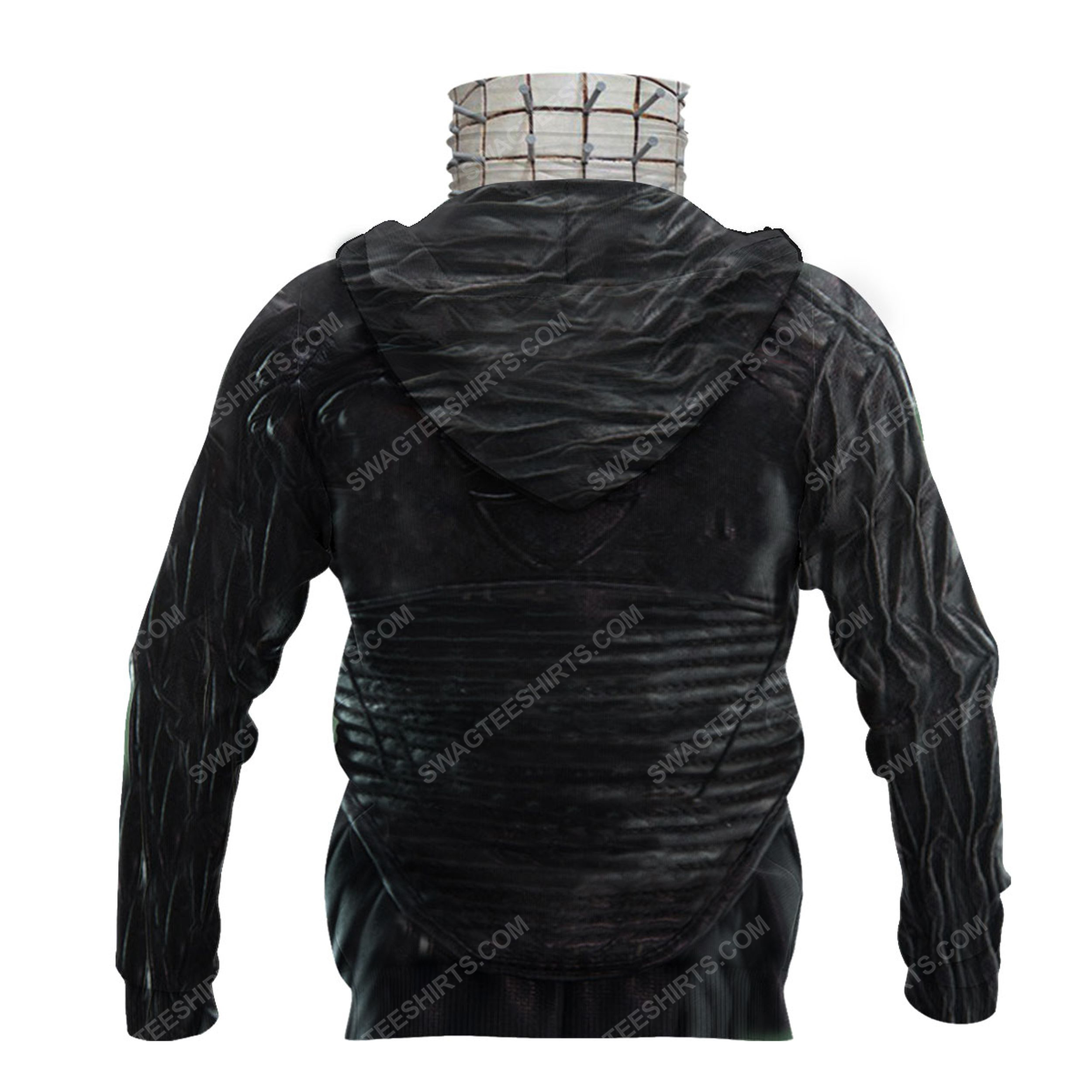 Pinhead the hell priest for halloween full print mask hoodie 4(1)