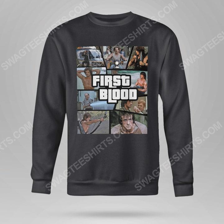 Rambo first blood movie sweatshirt(1)