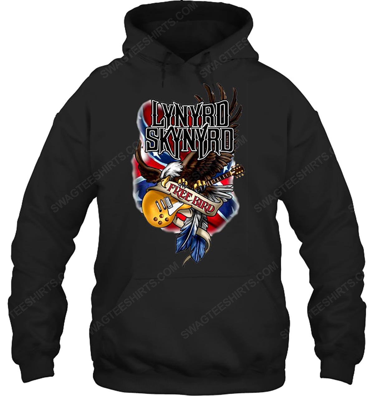 Rock band lynyrd skynyrd free bird hoodie 1