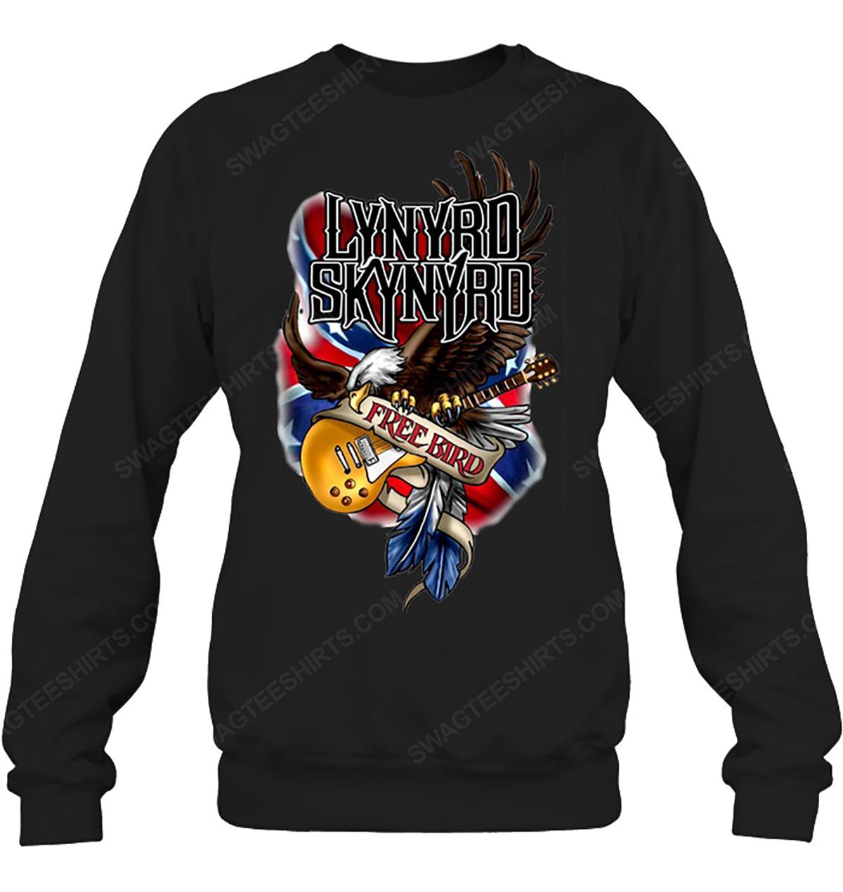 Rock band lynyrd skynyrd free bird sweatshirt 1