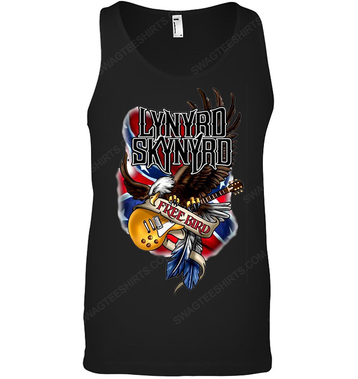 Rock band lynyrd skynyrd free bird tank top 1