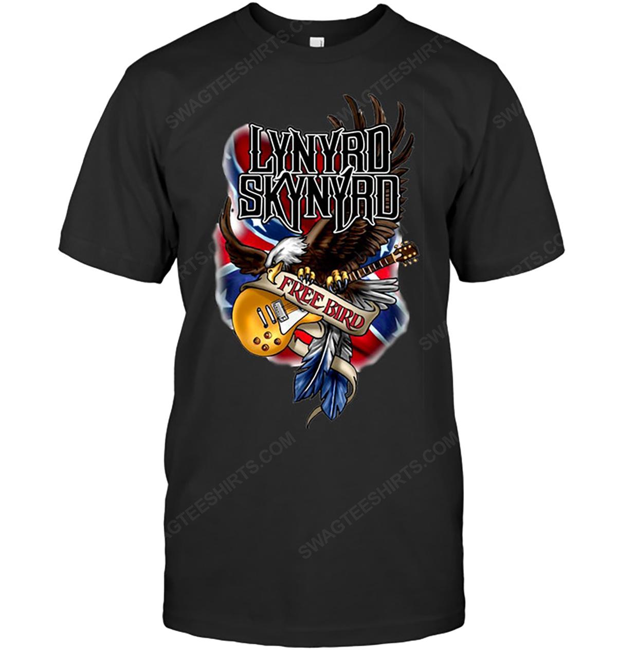 Rock band lynyrd skynyrd free bird tshirt 1