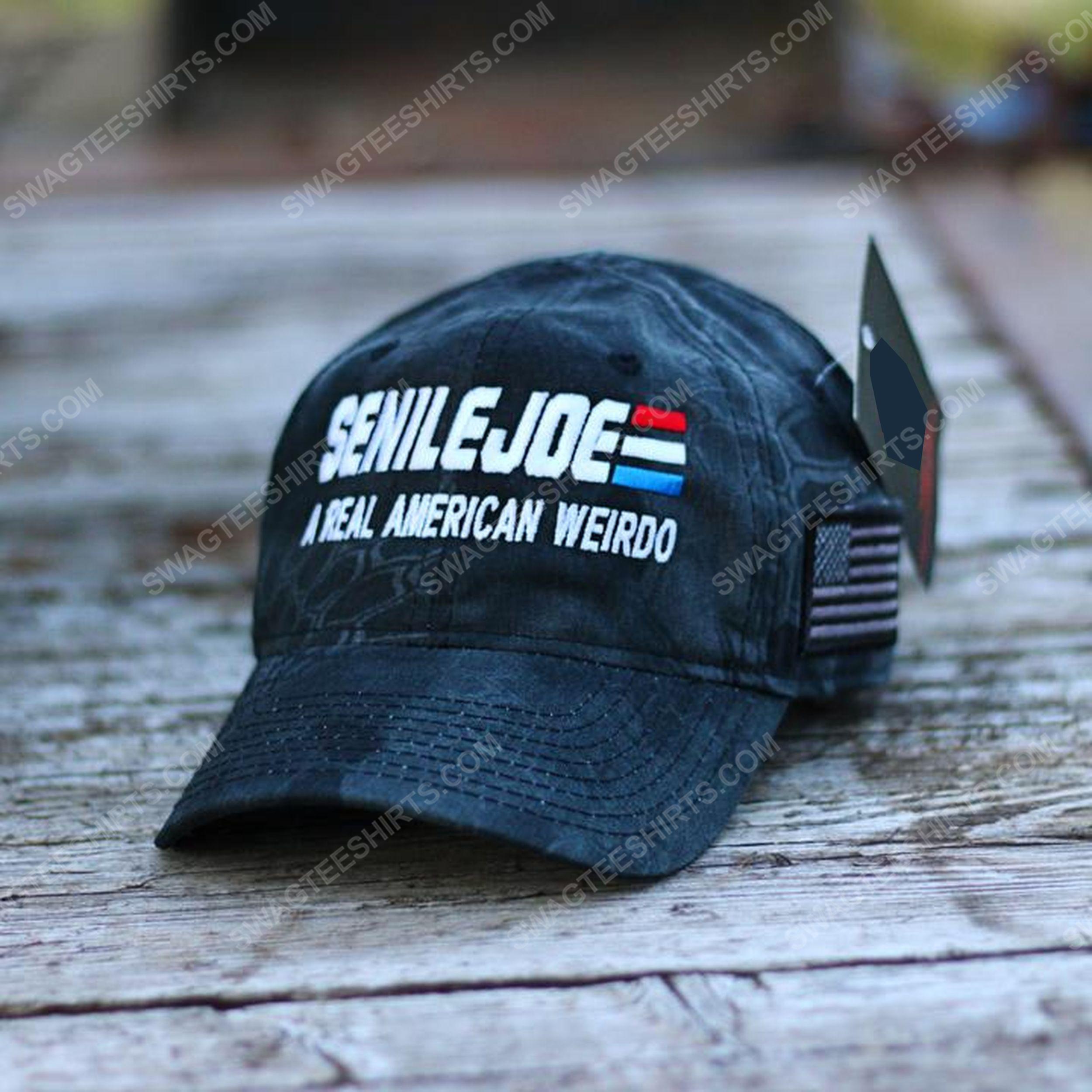 Senile joe a real american weirdo full print classic hat 1 - Copy
