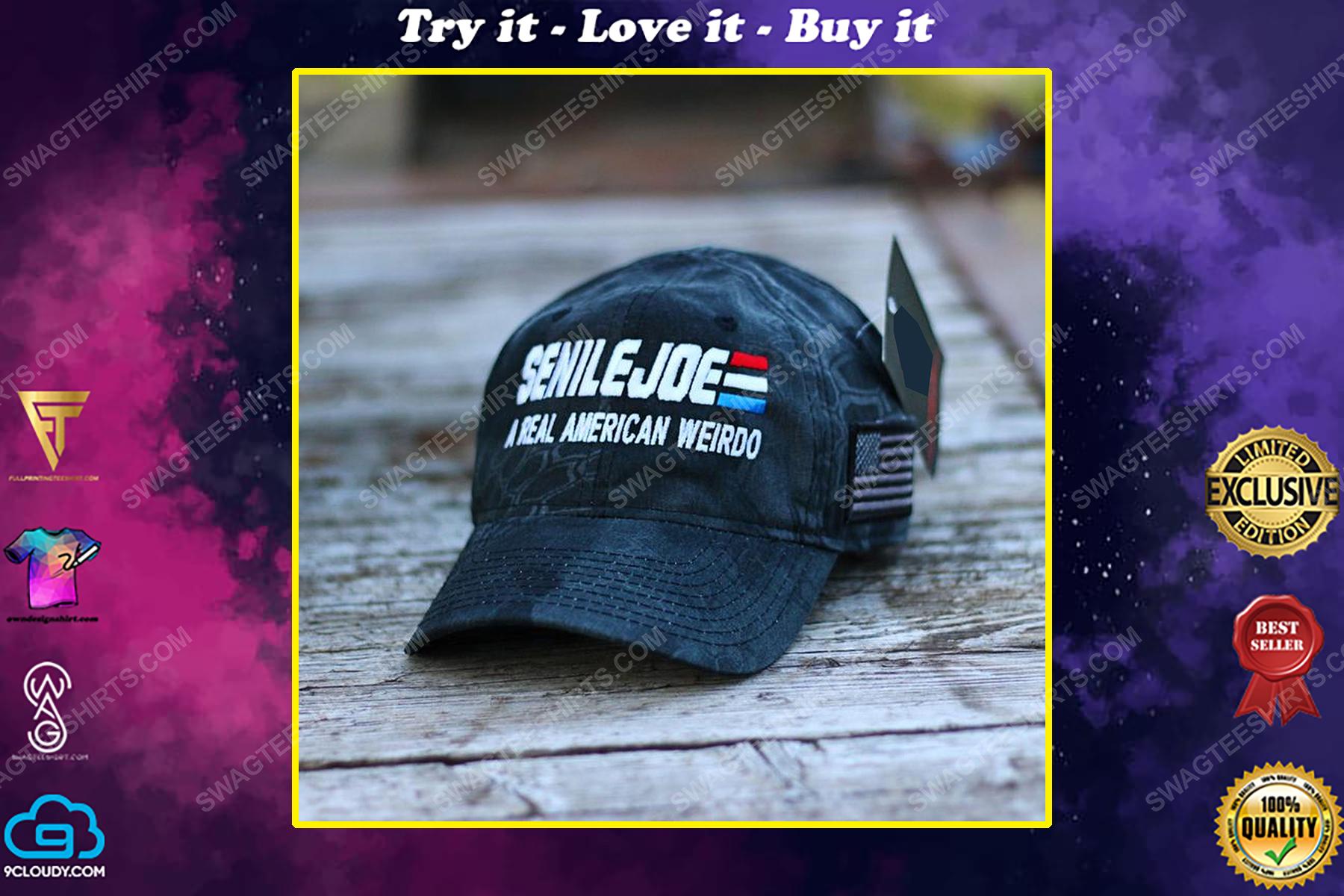 Senile joe a real american weirdo full print classic hat