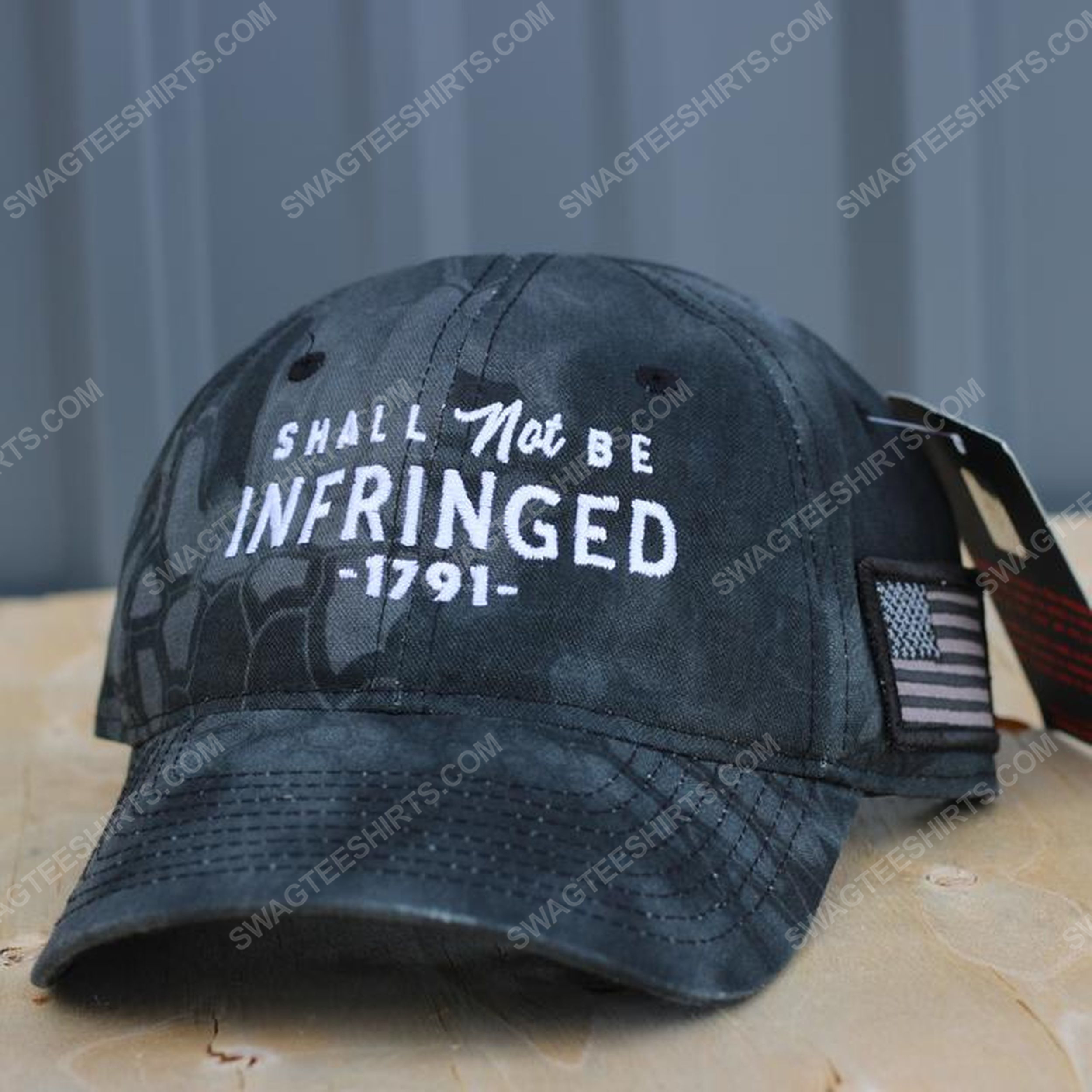 Shall not be infringed full print classic hat 1