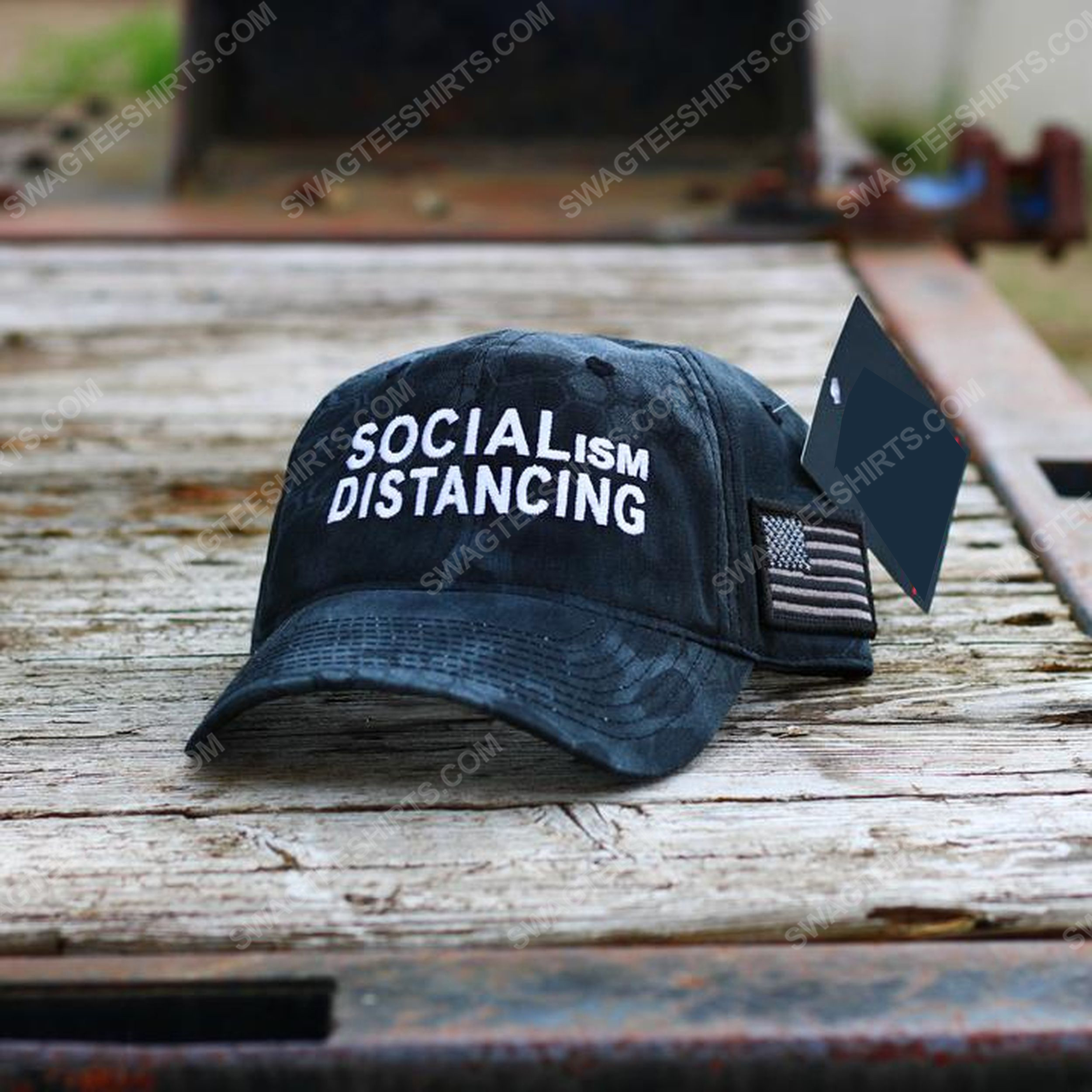 Socialism distancing full print classic hat 1 - Copy (2)