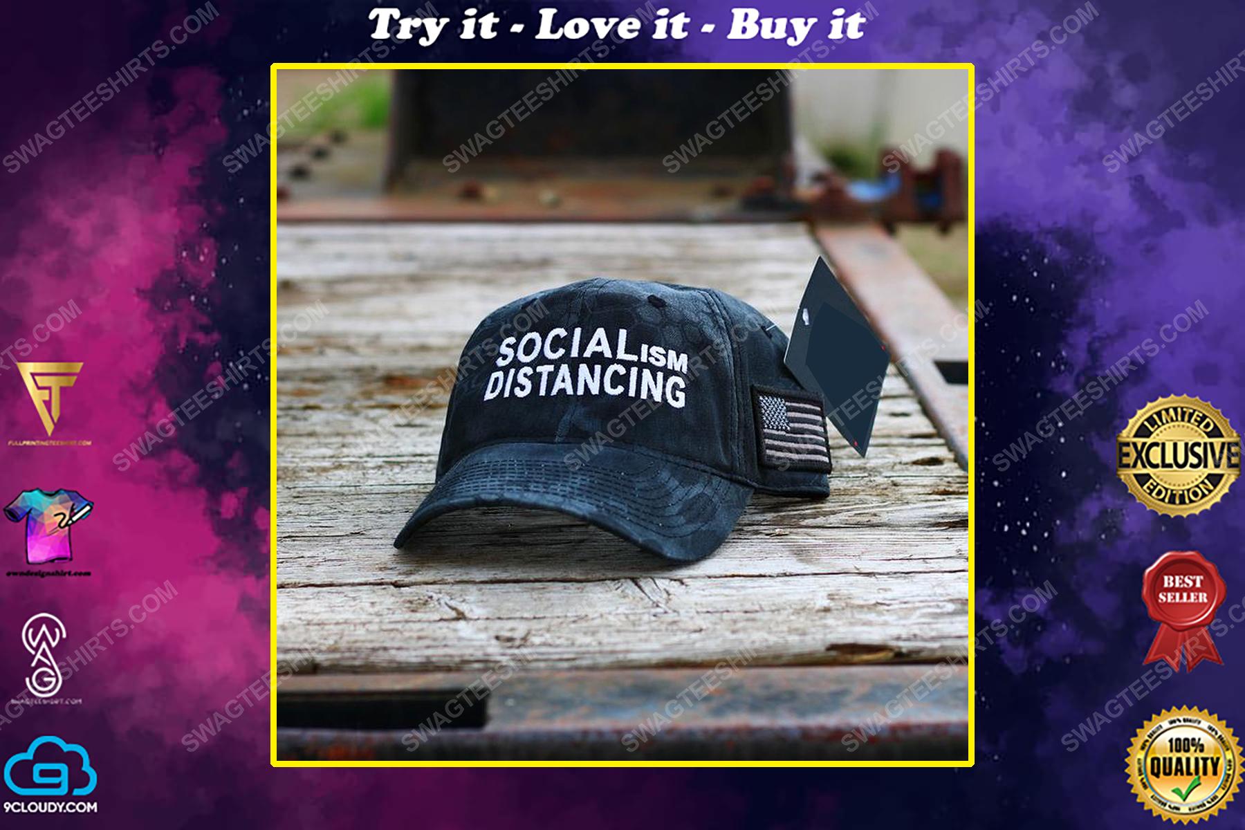 Socialism distancing full print classic hat